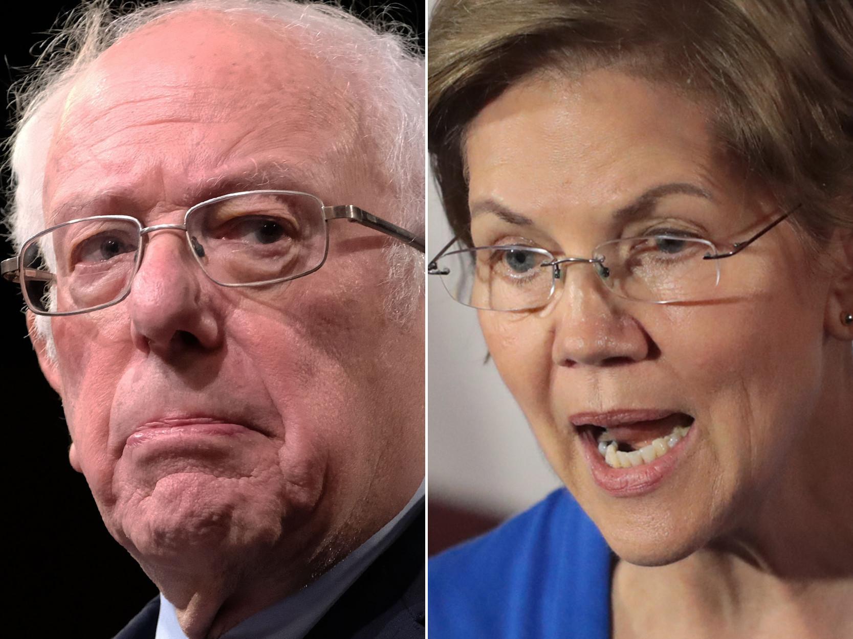 Dems should celebrate Sanders' and Warren's conscious uncoupling