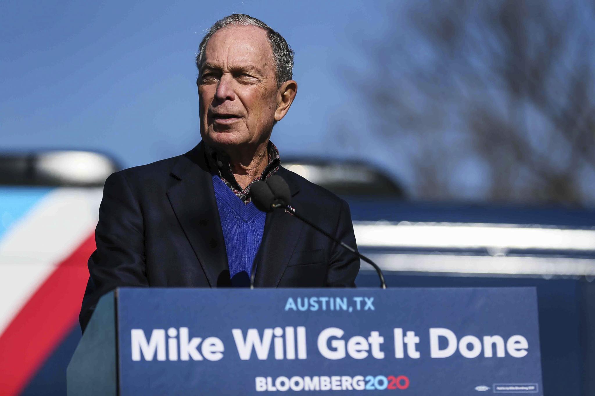 Mike Bloomberg's Twitter gets weird — very weird