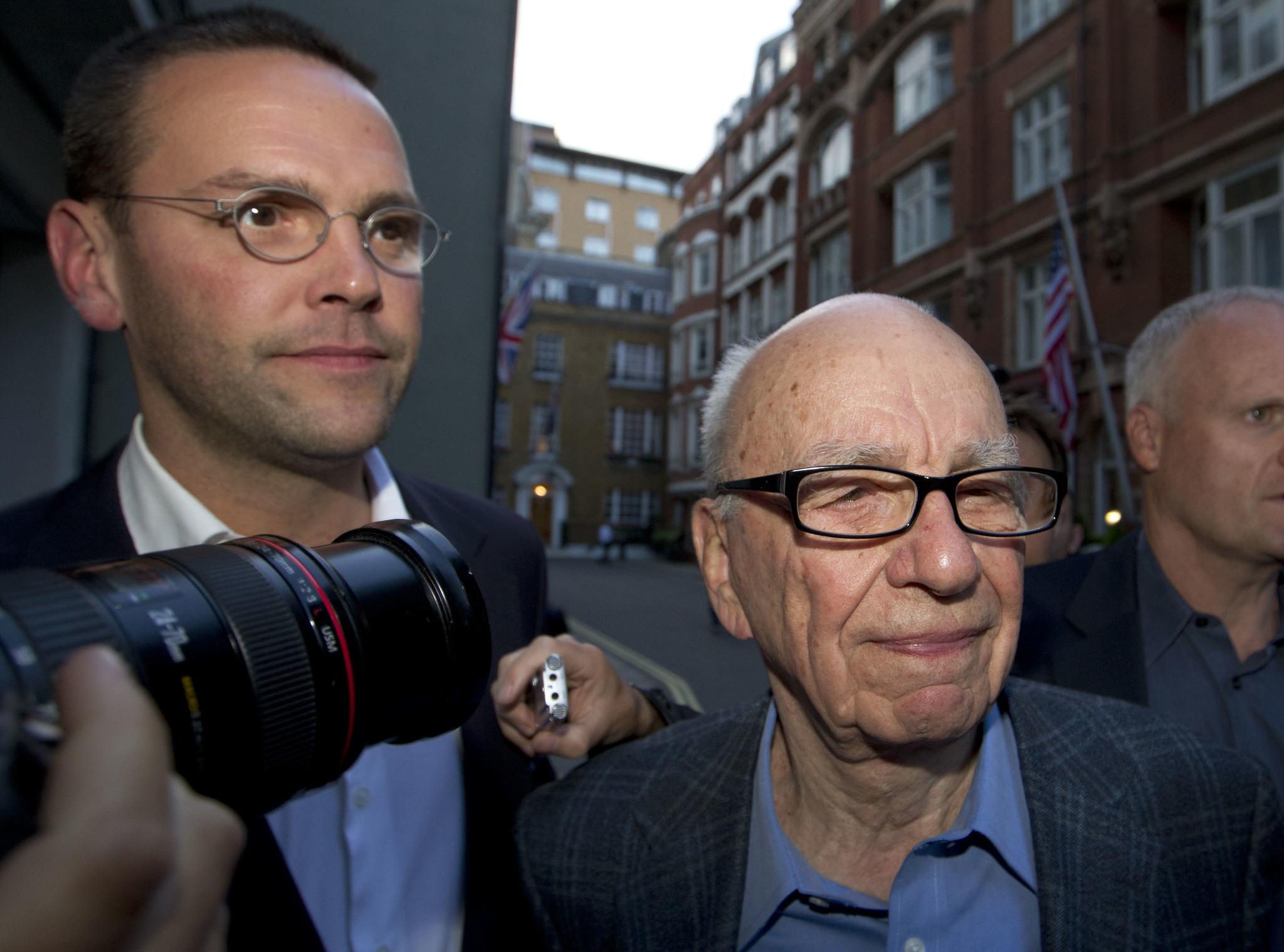 Rupert Murdoch's son slams News Corp's climate change coverage amid devastating Australian fires