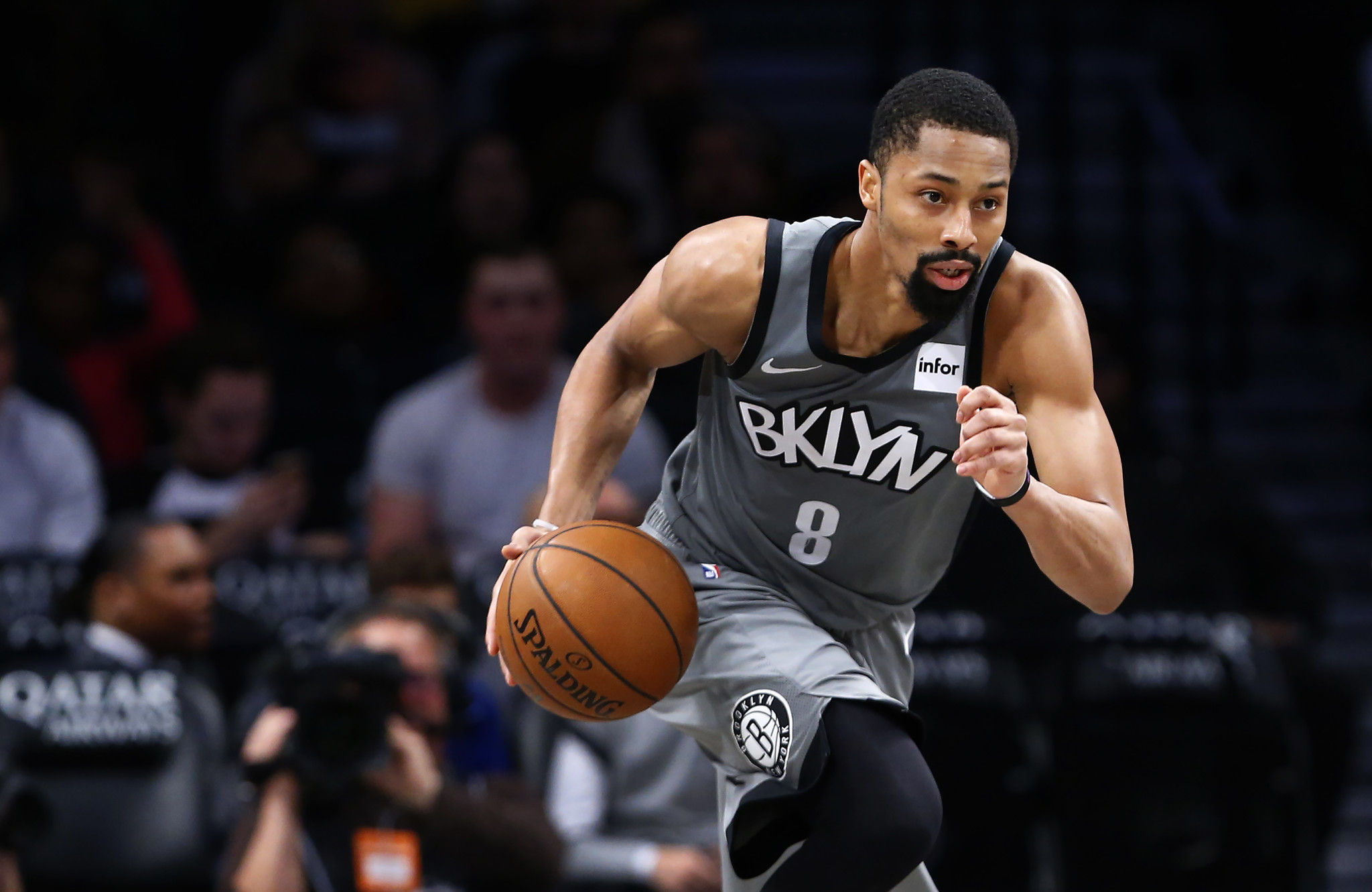 Nets' Spencer Dinwiddie 'knew' Kyrie and KD were coming in free agency