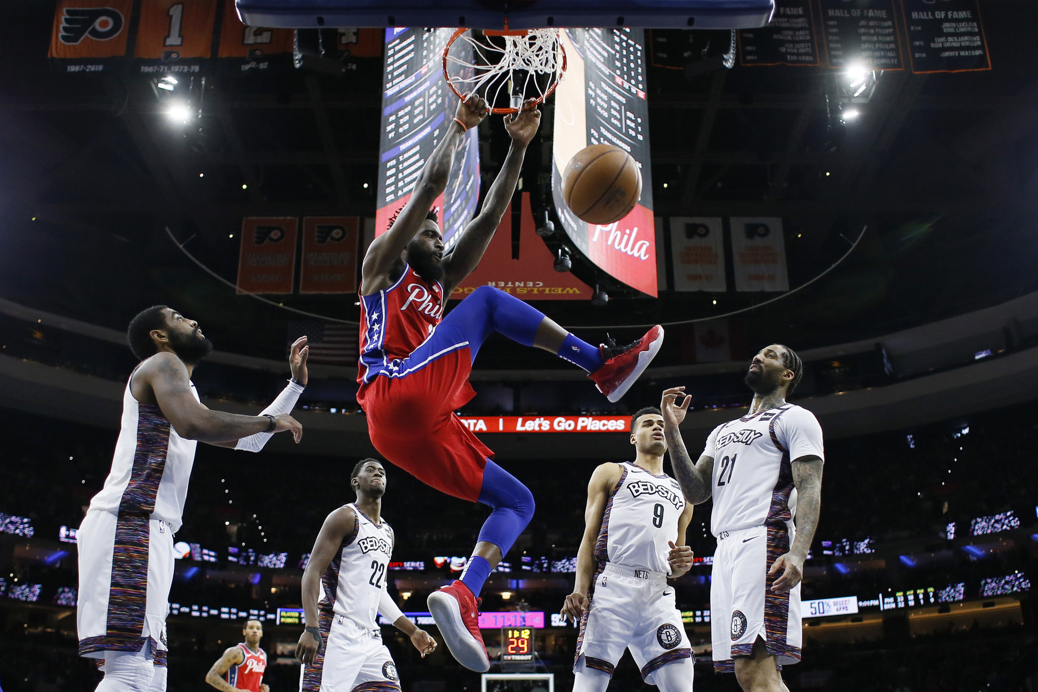 Kyrie Irving goes cold as Nets let 4th-quarter lead slip away against Sixers