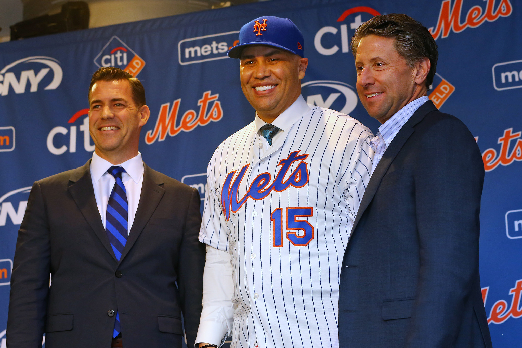 Jeff Wilpon wanted nothing to do with questions about Carlos Beltran's job status