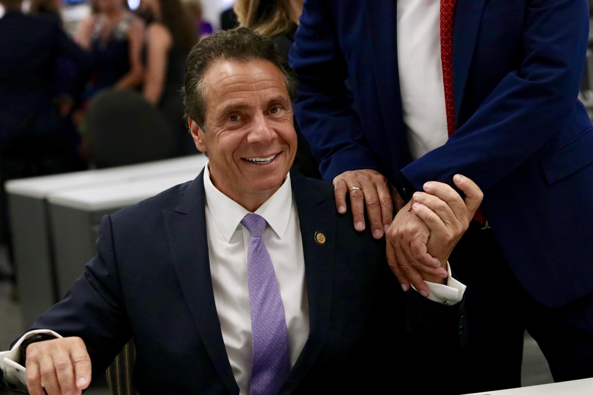 Cuomo raises $4.5 million for campaign war chest as Senate Democrats rake in dough