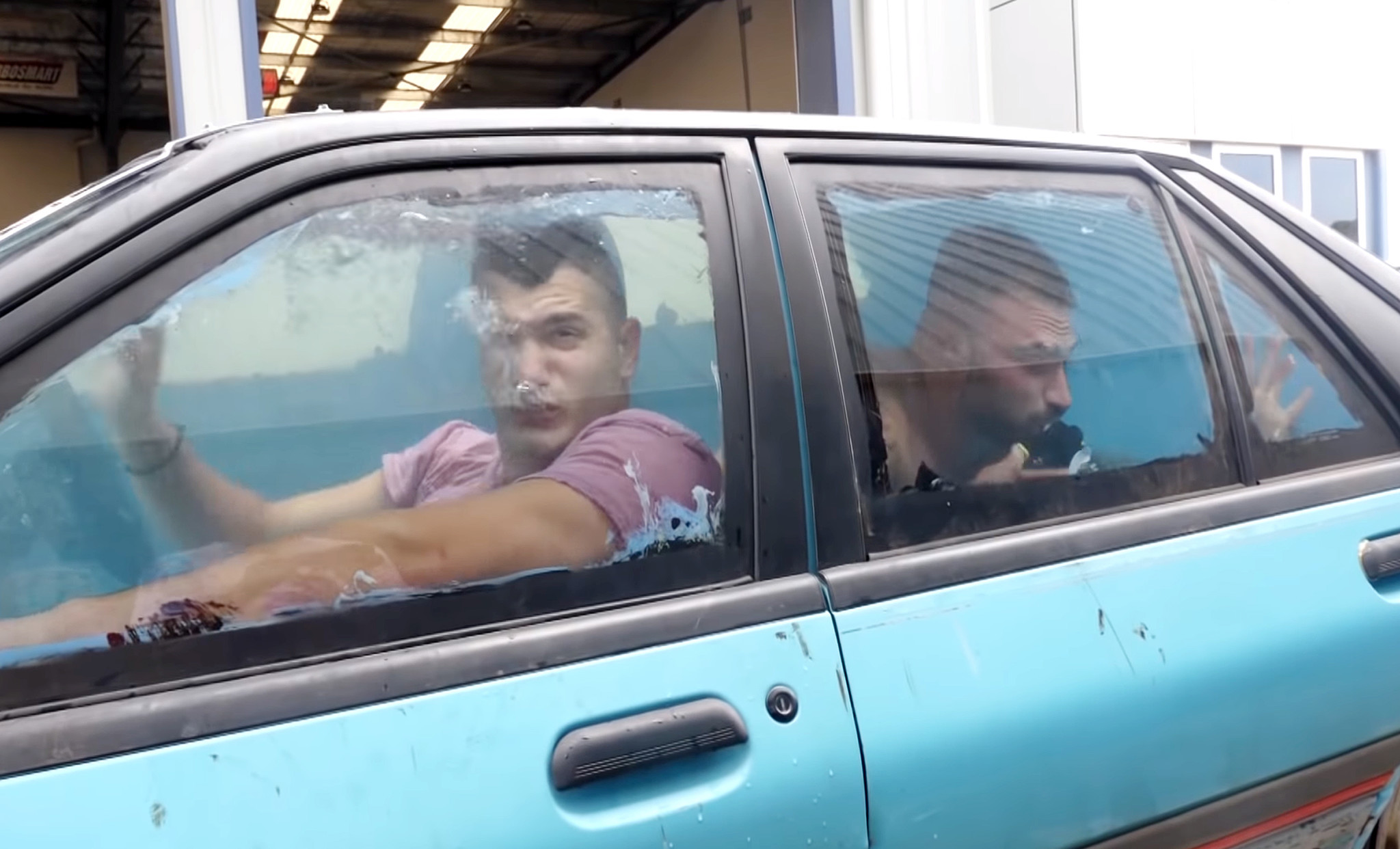 Australian prankster who drove water-filled car 'confident as always' during court appearance