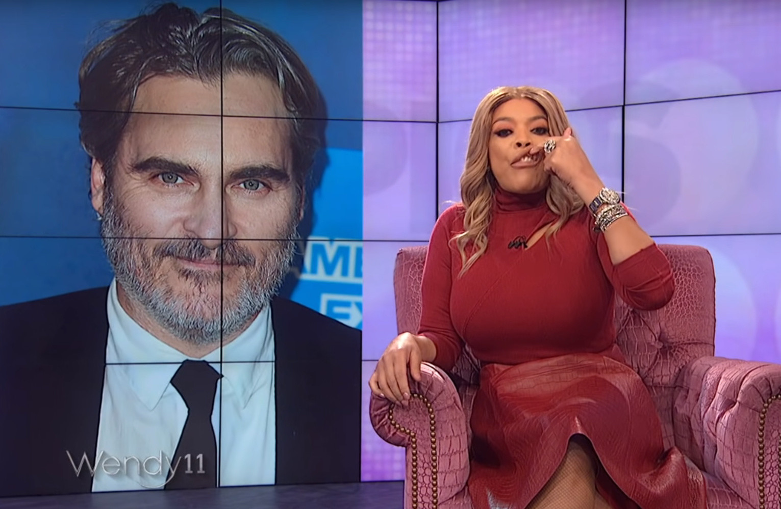 Wendy Williams apologizes after making Joaquin Phoenix 'cleft lip' comments