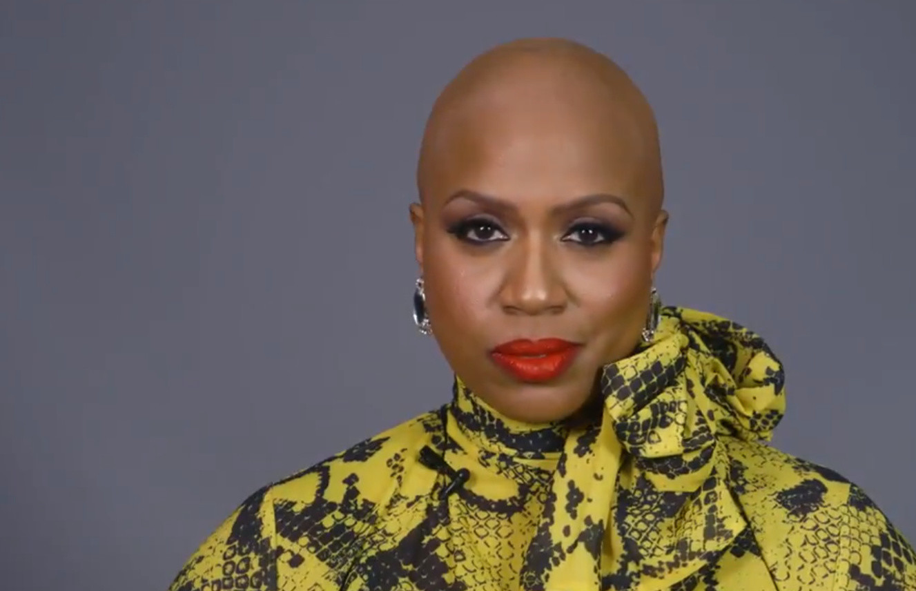 Rep. Ayanna Pressley reveals bald head, opens up about alopecia for first time
