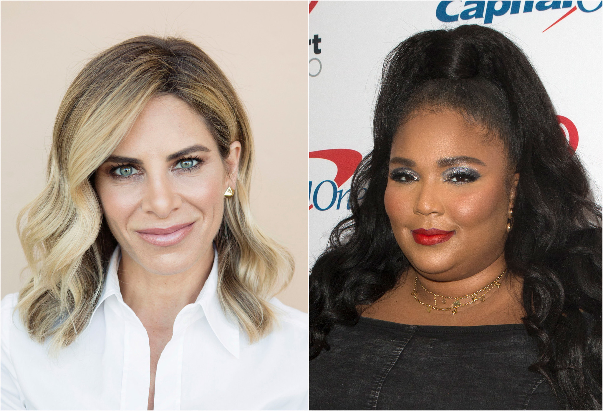 Gold-lamé clad Lizzo sizzles in response to trainer Jillian Michaels' allegedly body-shaming remarks