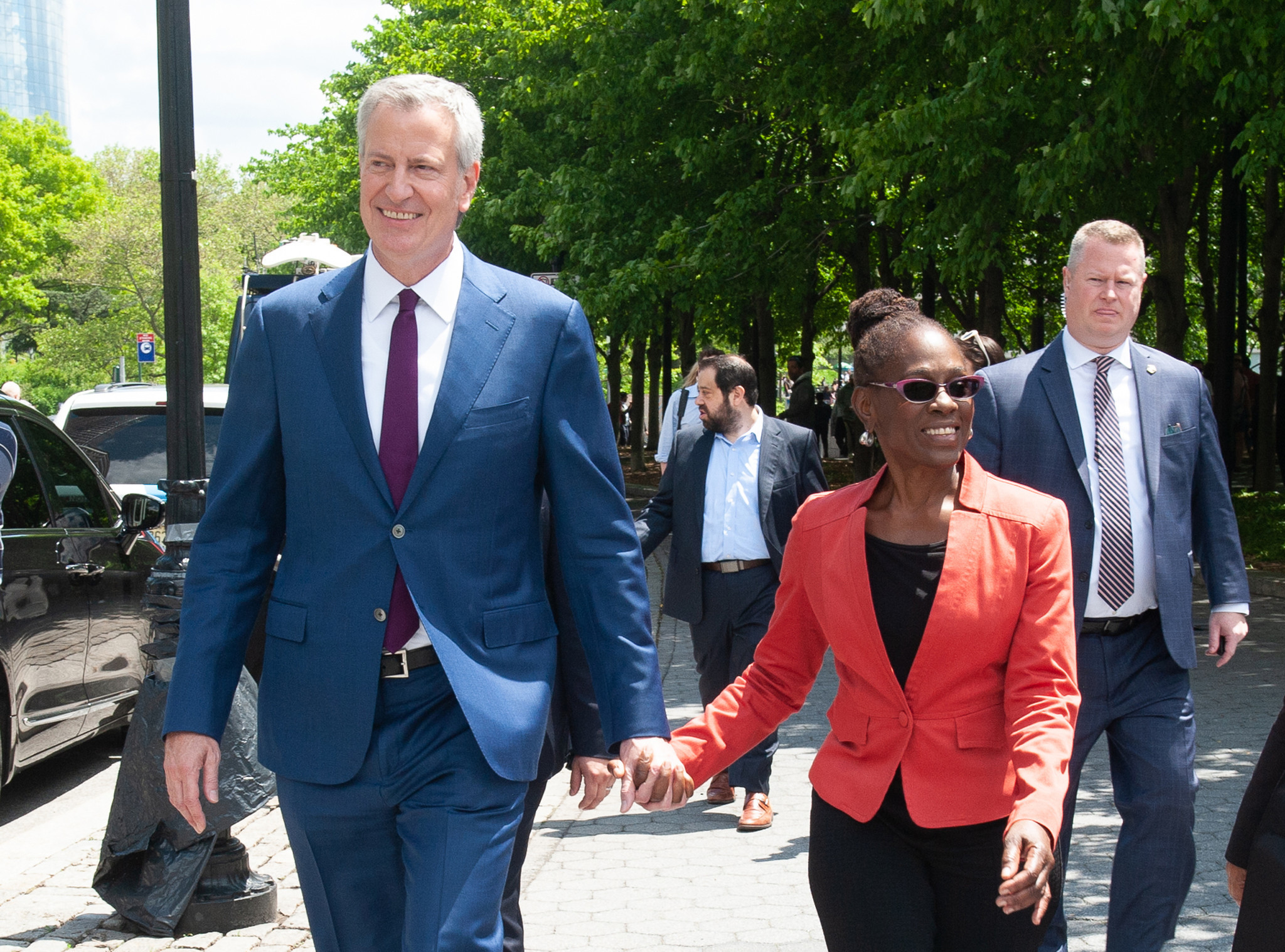 Mayor de Blasio is pushing for NYC's First Lady Chirlane McCray to become Brooklyn borough president, insiders say