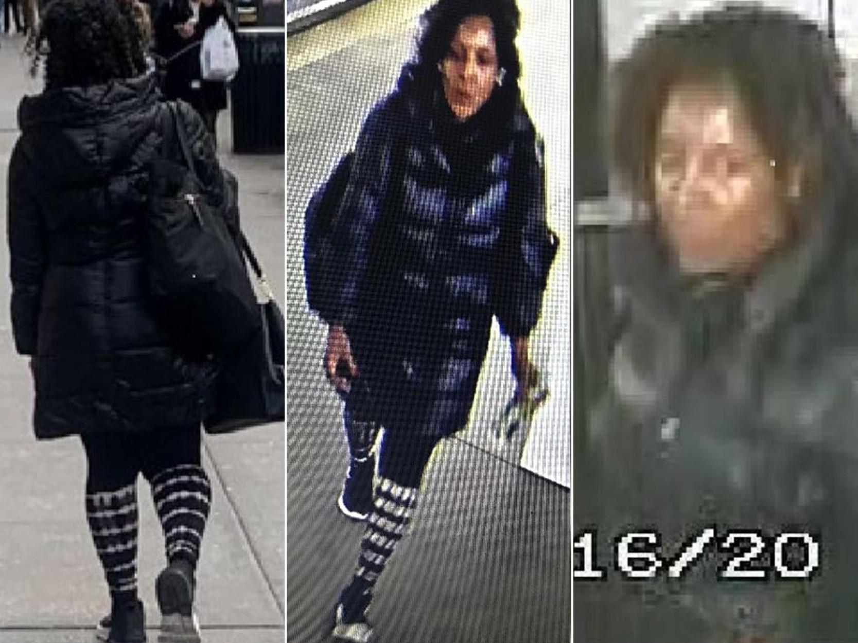 Police release photos of Manhattan bleach attack suspect