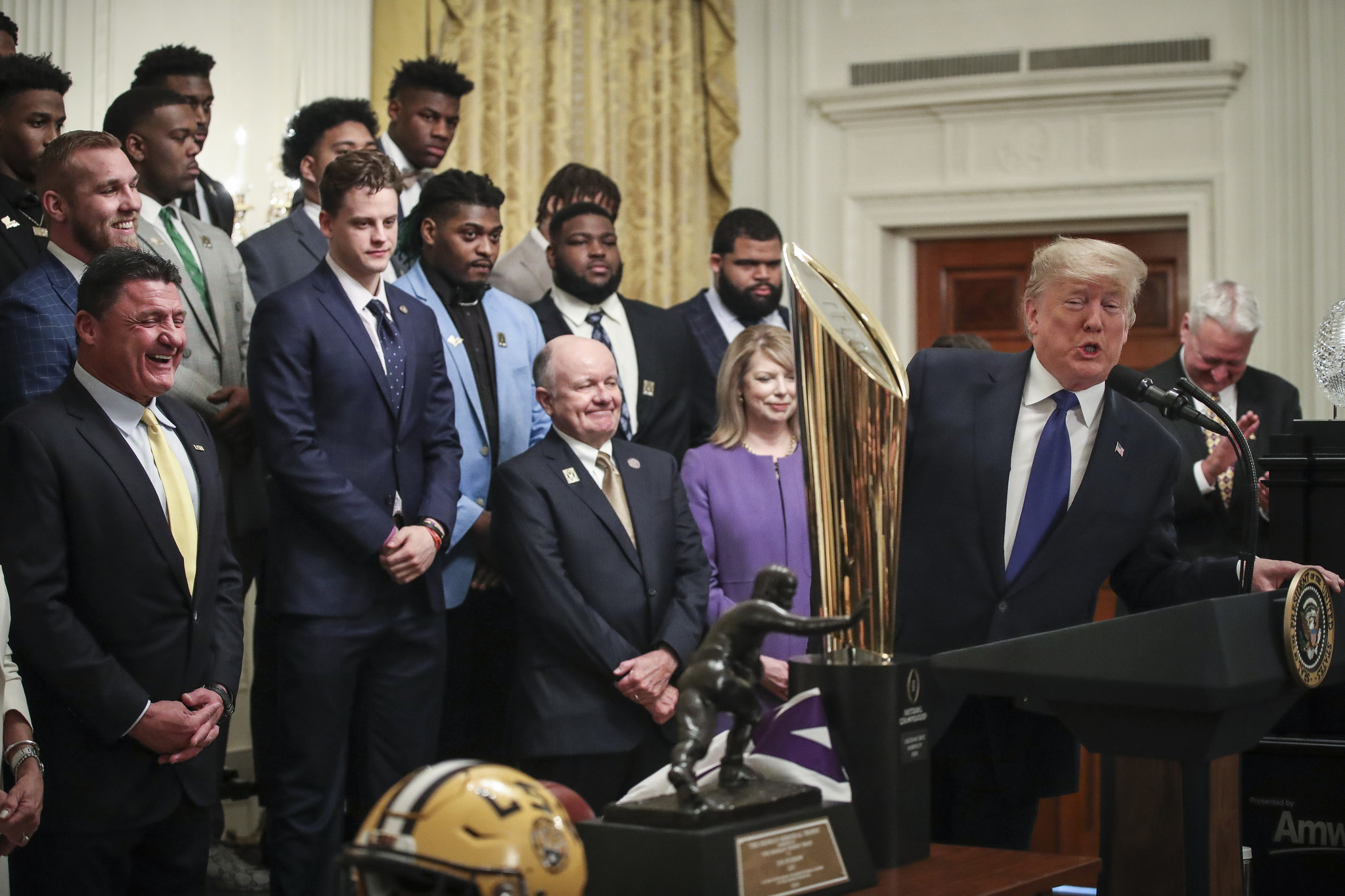 Donald Trump: LSU football 'would've taken out those terrorists'