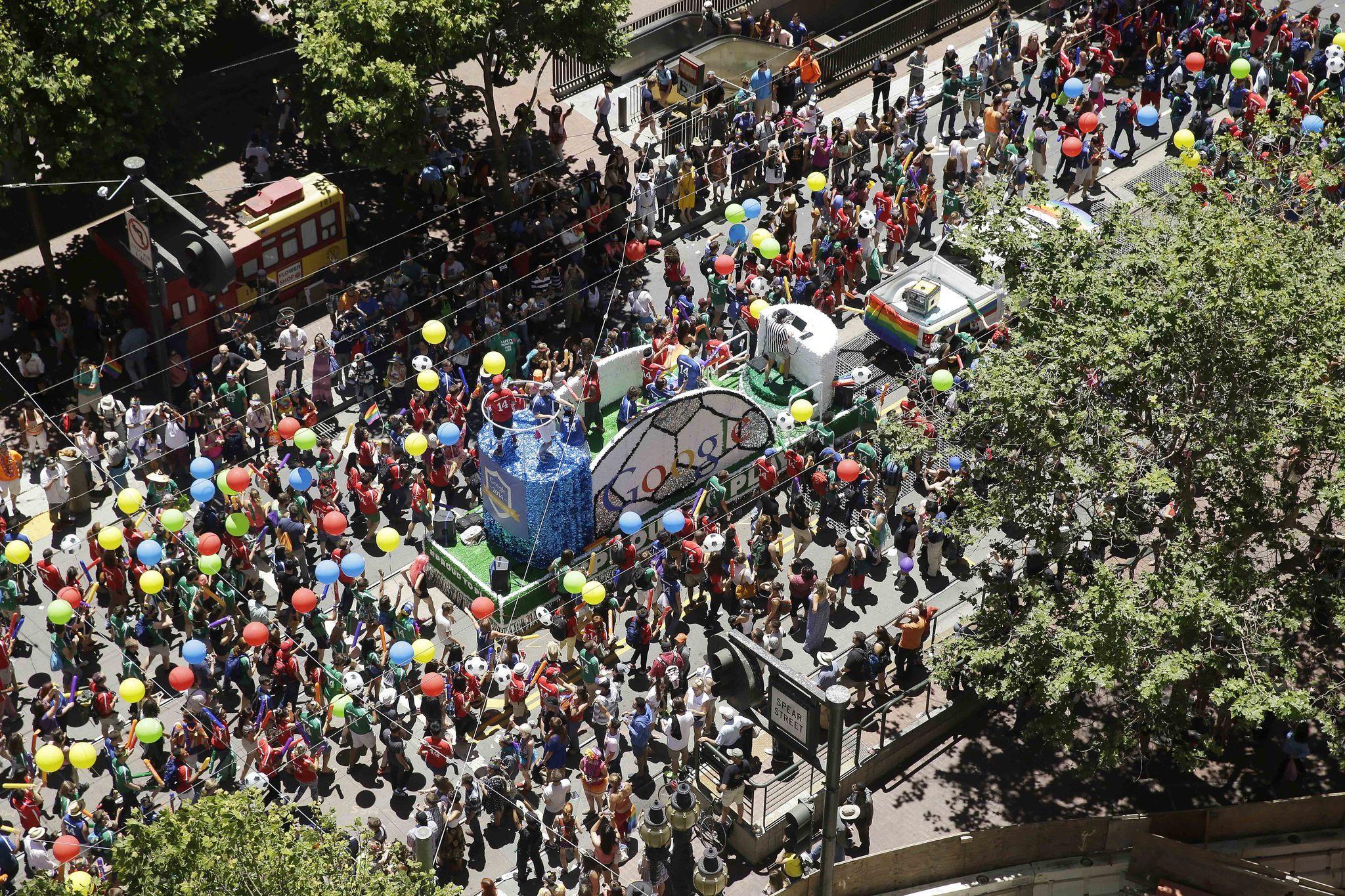 San Francisco Pride members vote to ban Google, YouTube from future LGBTQ Pride parades