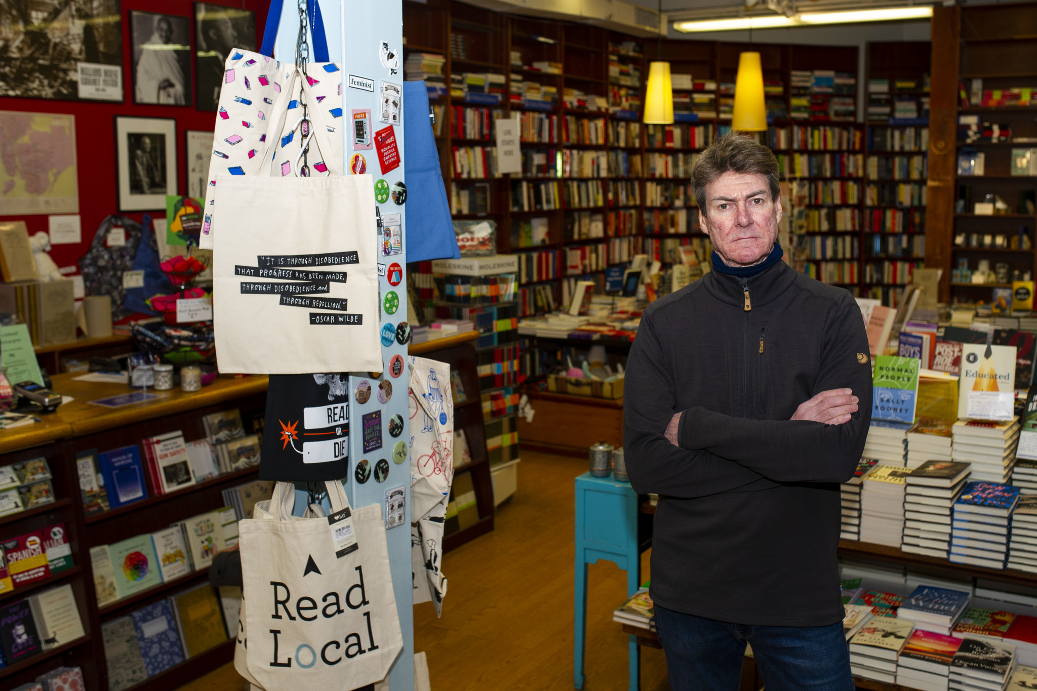 Manhattan bookstore opened to enthusiam, closed amid rent feud and fraud charges