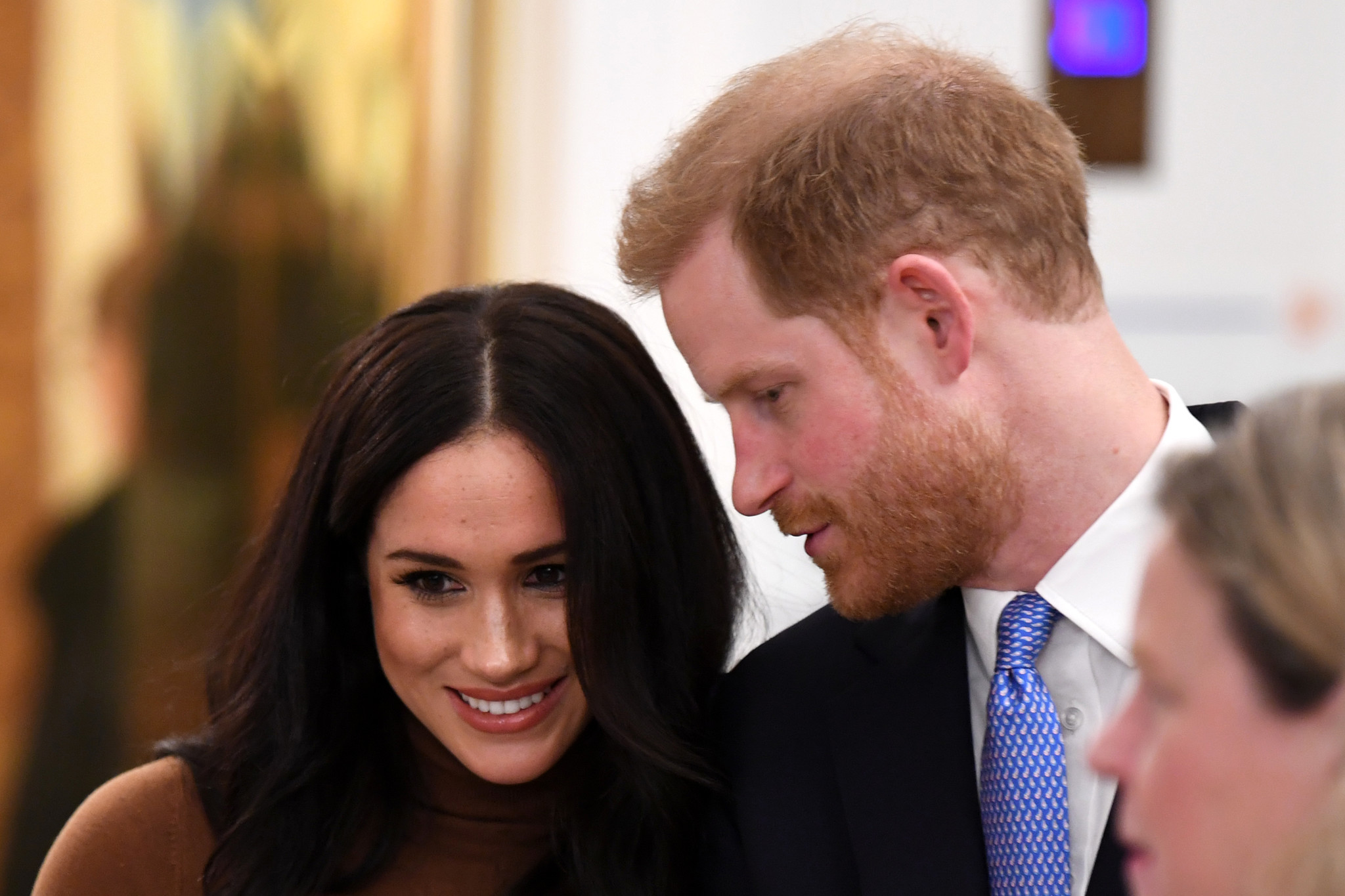 Prince Harry and Meghan Markle to give up their titles, Buckingham Palace says