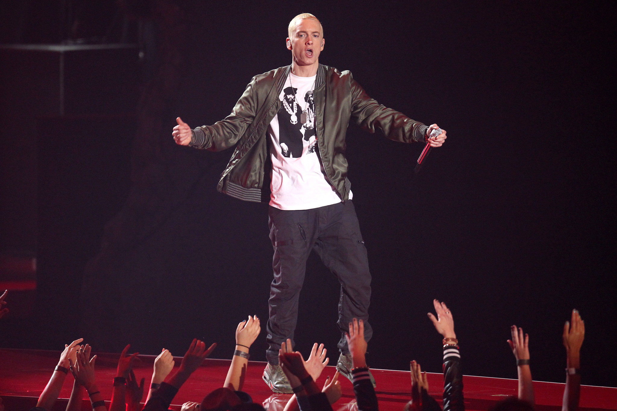 Eminem slammed for referencing Ariana Grande concert bombing on new album