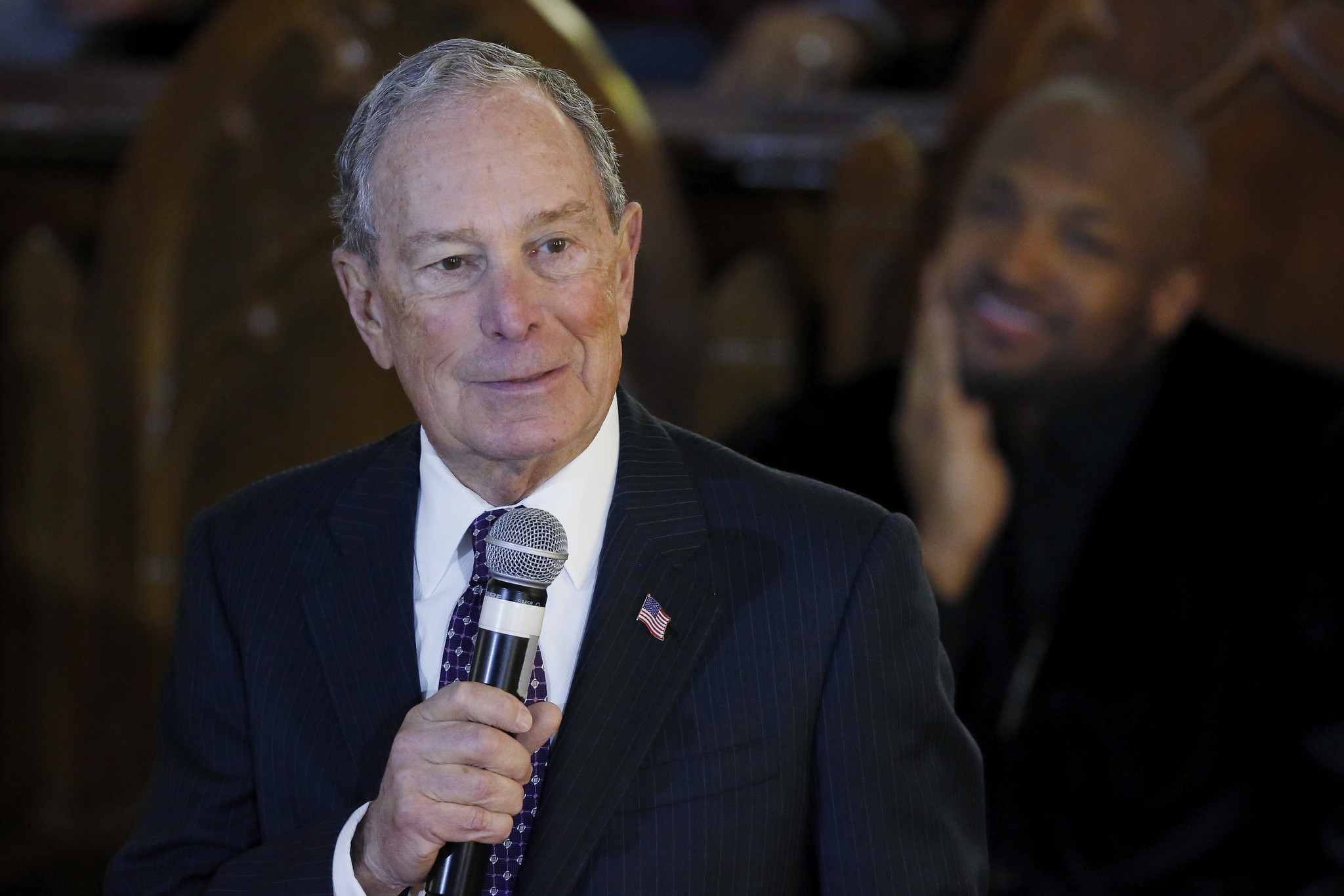 Mike Bloomberg is the Pander Man, shamelessly begging for the black vote, and everyone knows it