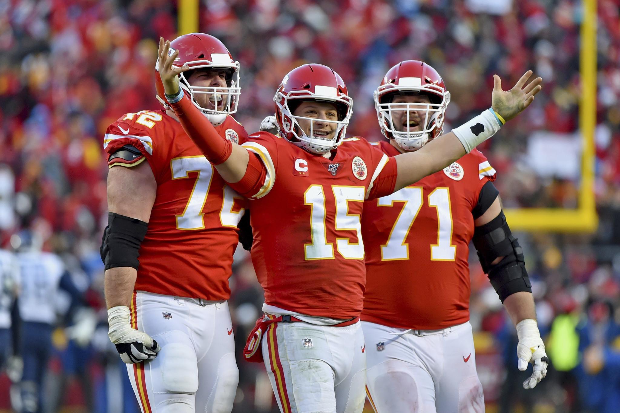 Patrick Mahomes, Chiefs light up Titans en route to Super Bowl LIV