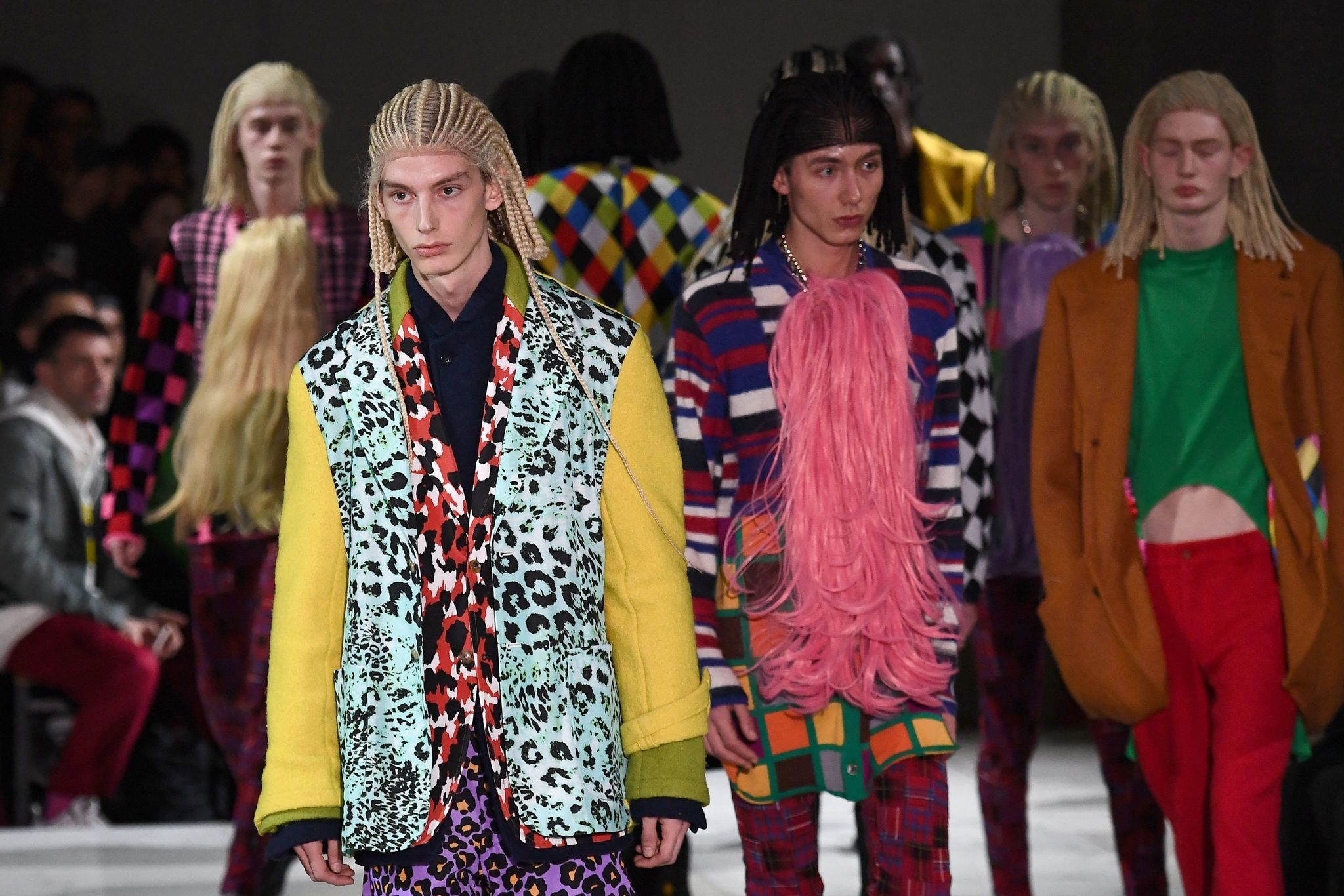 Comme Des Garçons hairstylist sorry for putting white people in cornrows