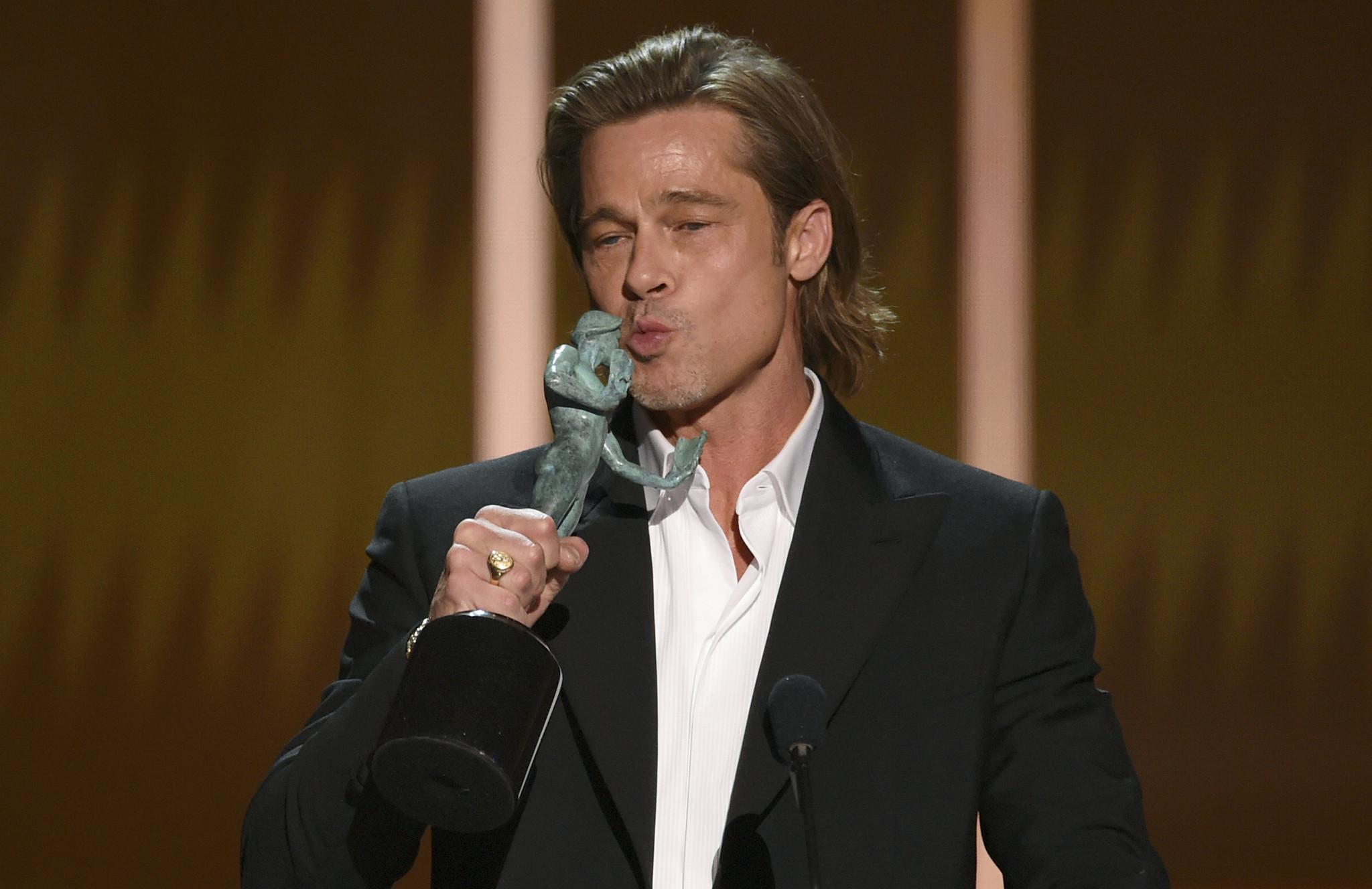 Brad Pitt and Laura Dern win big at SAG Awards