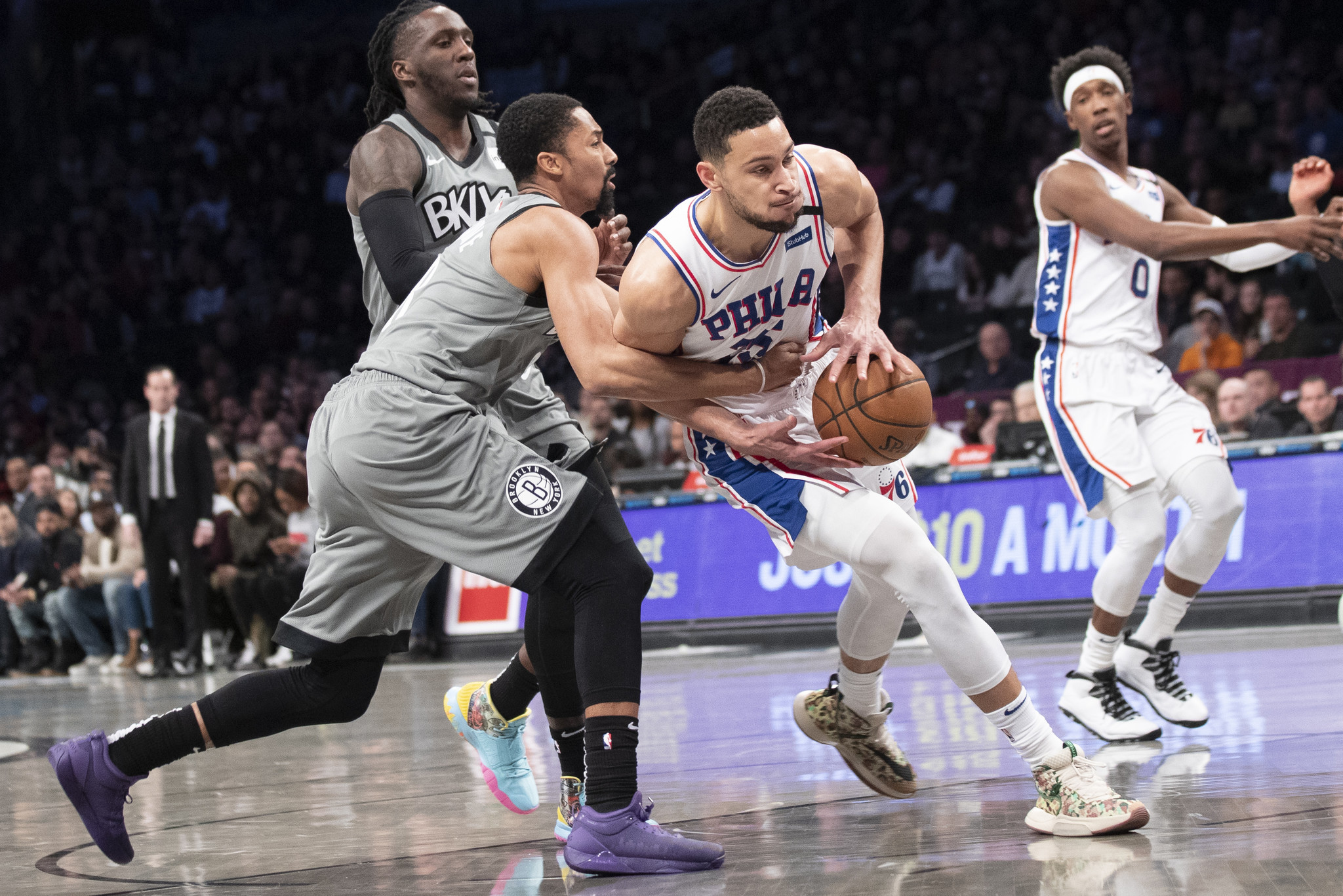 Injuries continue to define the Nets in disappointing loss to Sixers