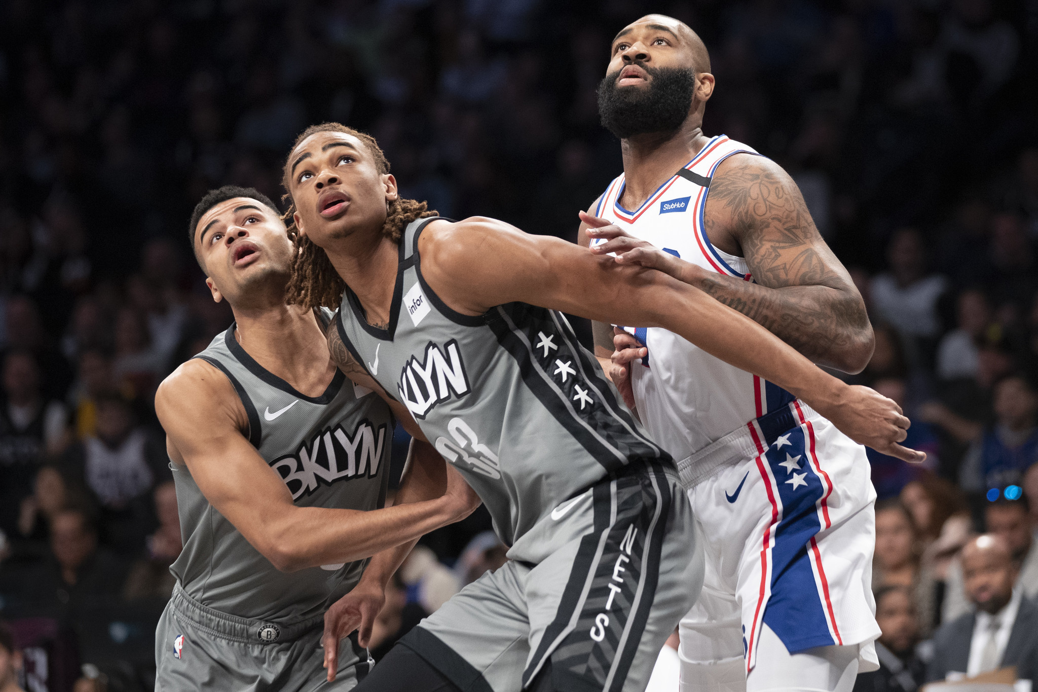 Nic Claxton continues to impress in the wake of Nets' injury woes