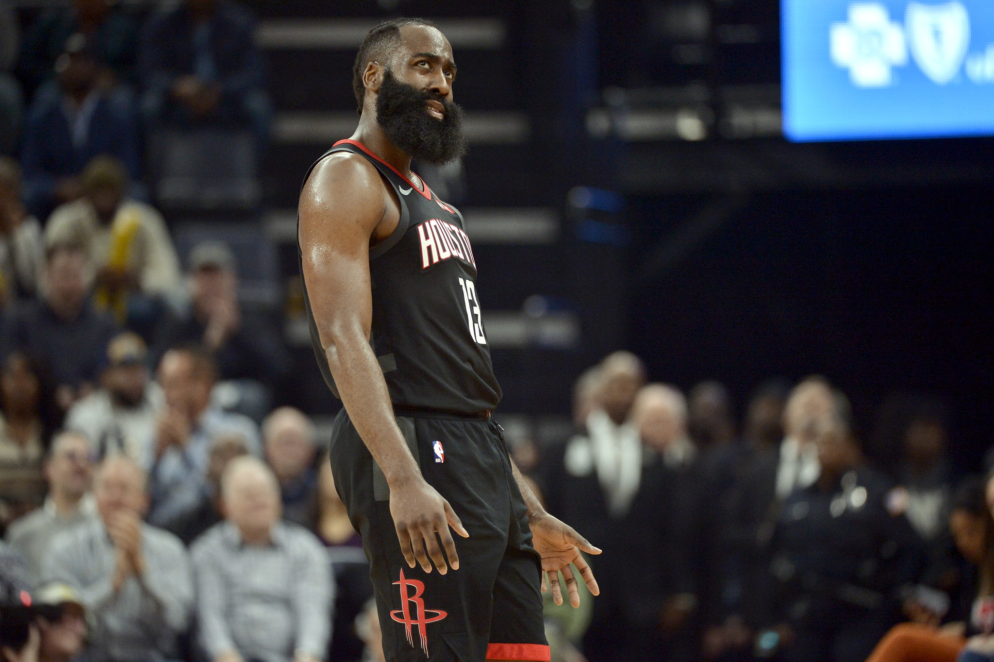 James Harden misses NBA-record 16 three-pointers, tying himself