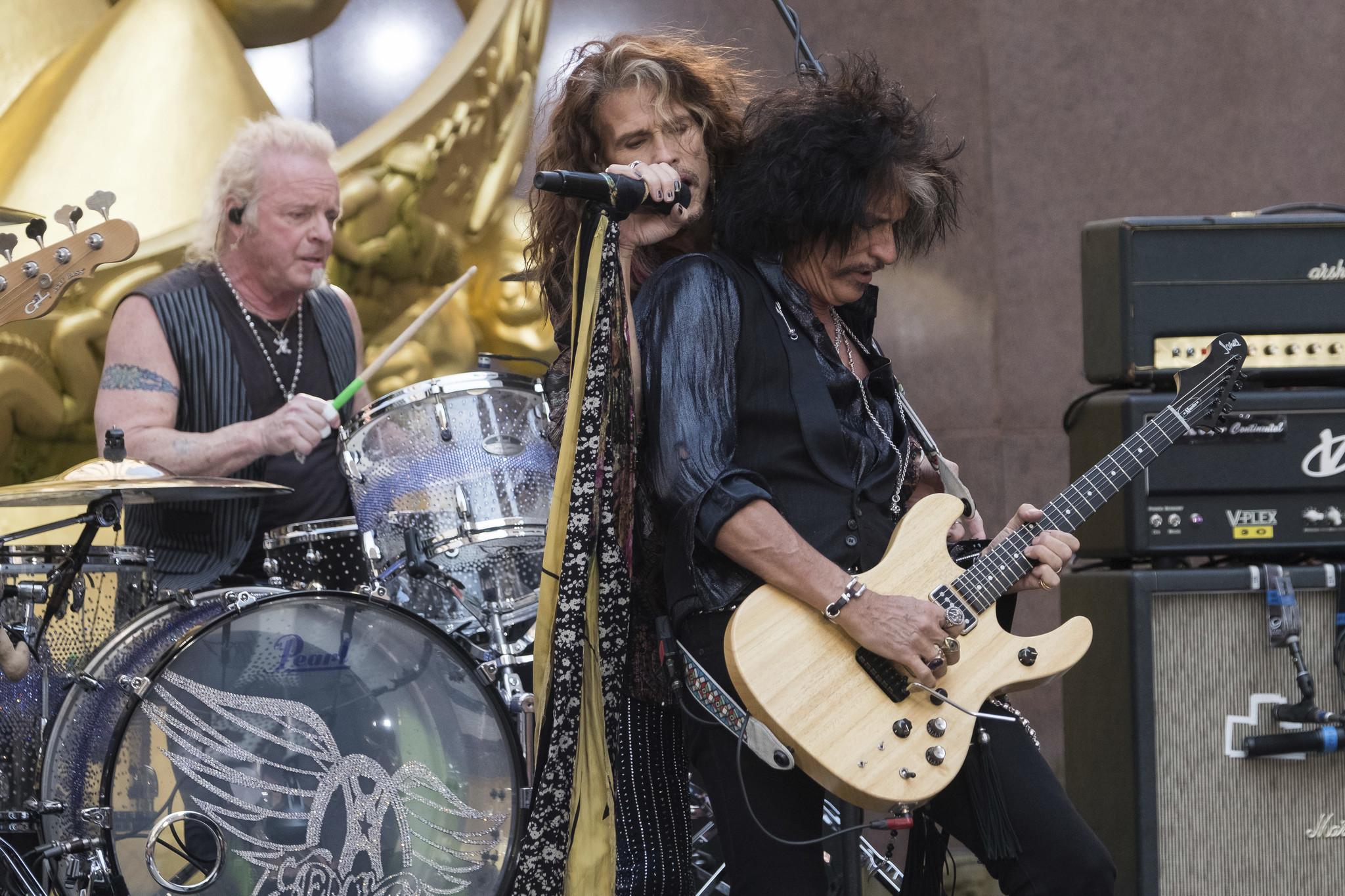 Aerosmith drummer Joey Kramer sues Steven Tyler and other bandmates for blocking his return