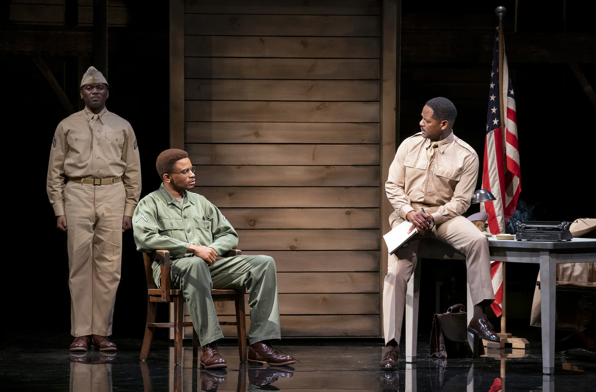 Broadway review: 'A Soldier's Play' is as powerful as ever after nearly 40 years