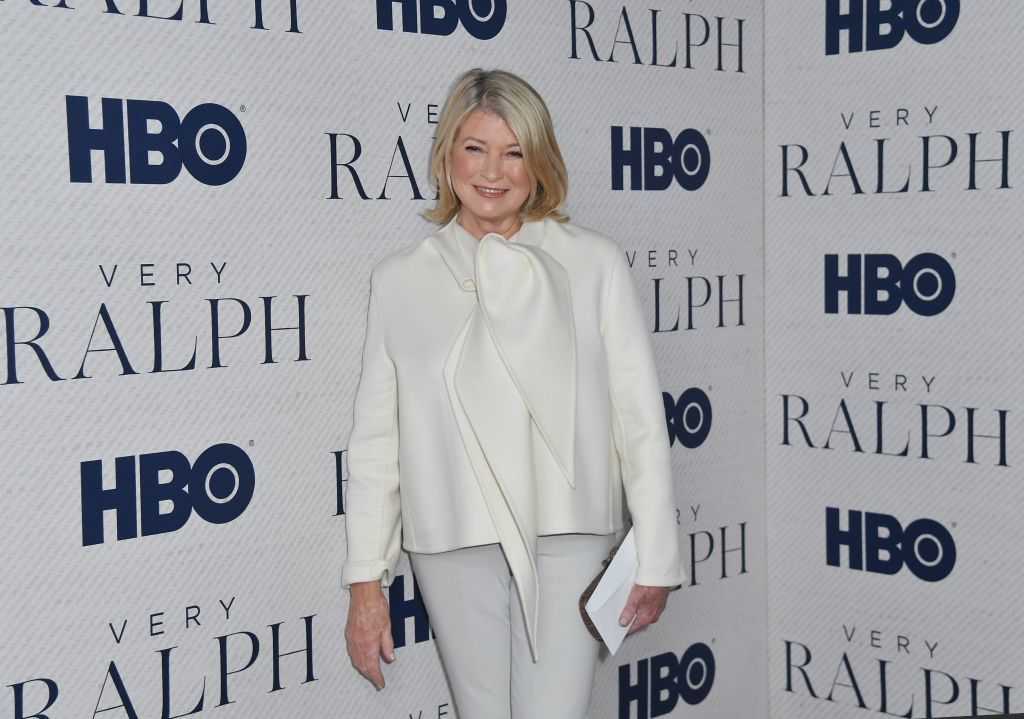 Martha Stewart claims to have spent nearly 3 hours plowing roads on her country estate
