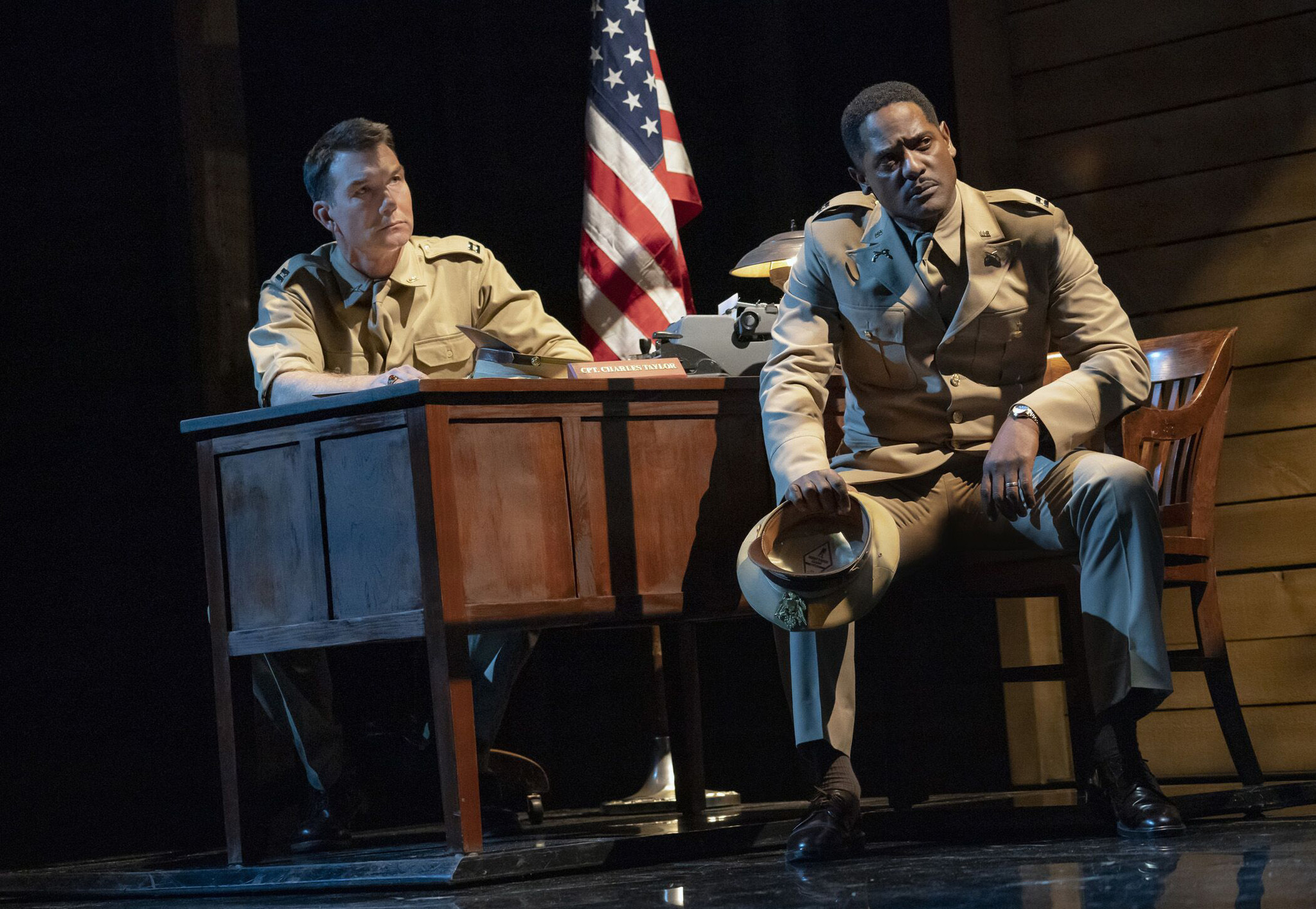 'A Soldier's Play' finally lands on Broadway, 'crackles with relevancy' as it takes on racism