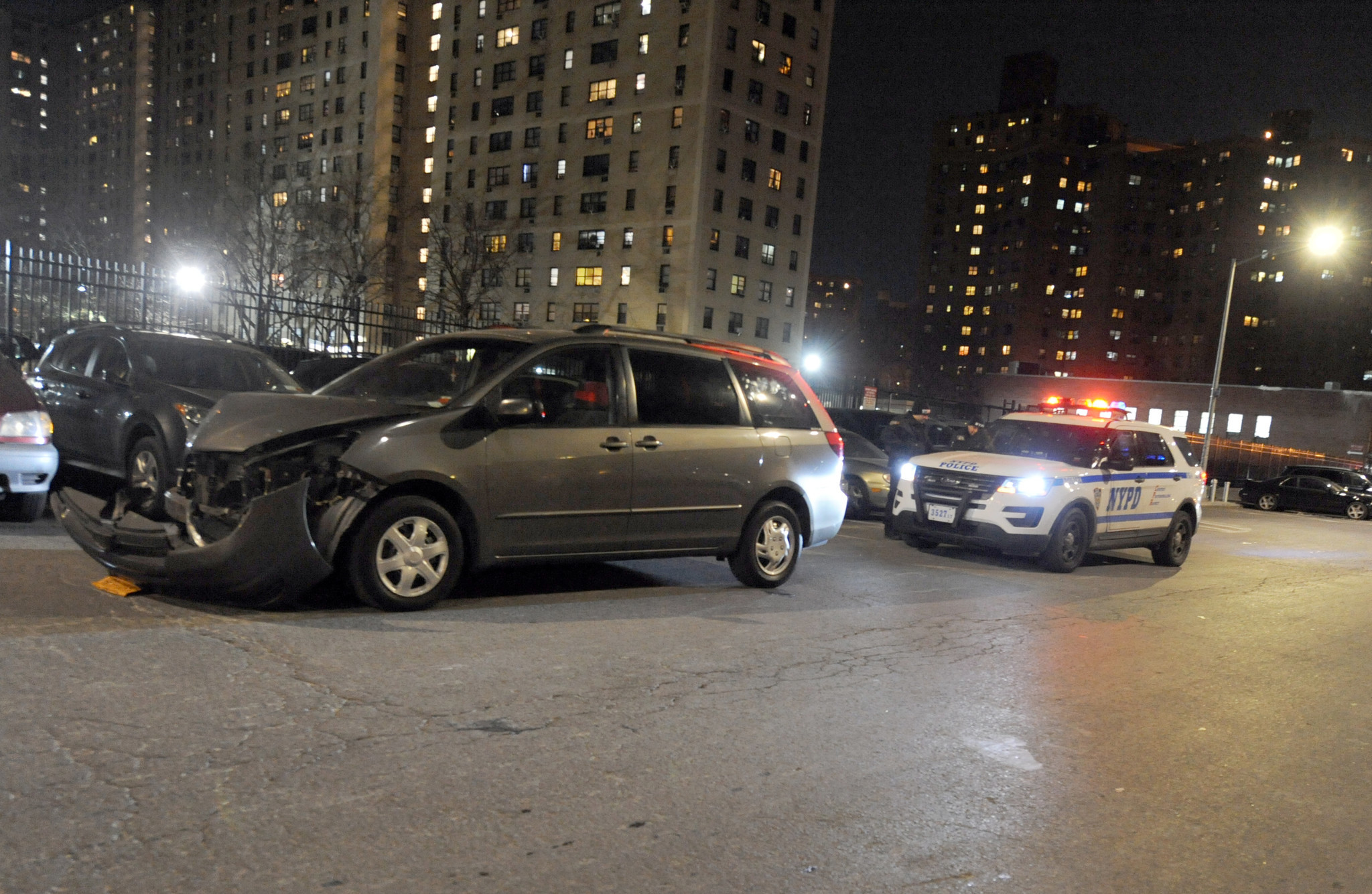 Hit-and-run driver slams into NYPD officer on Lower East Side street