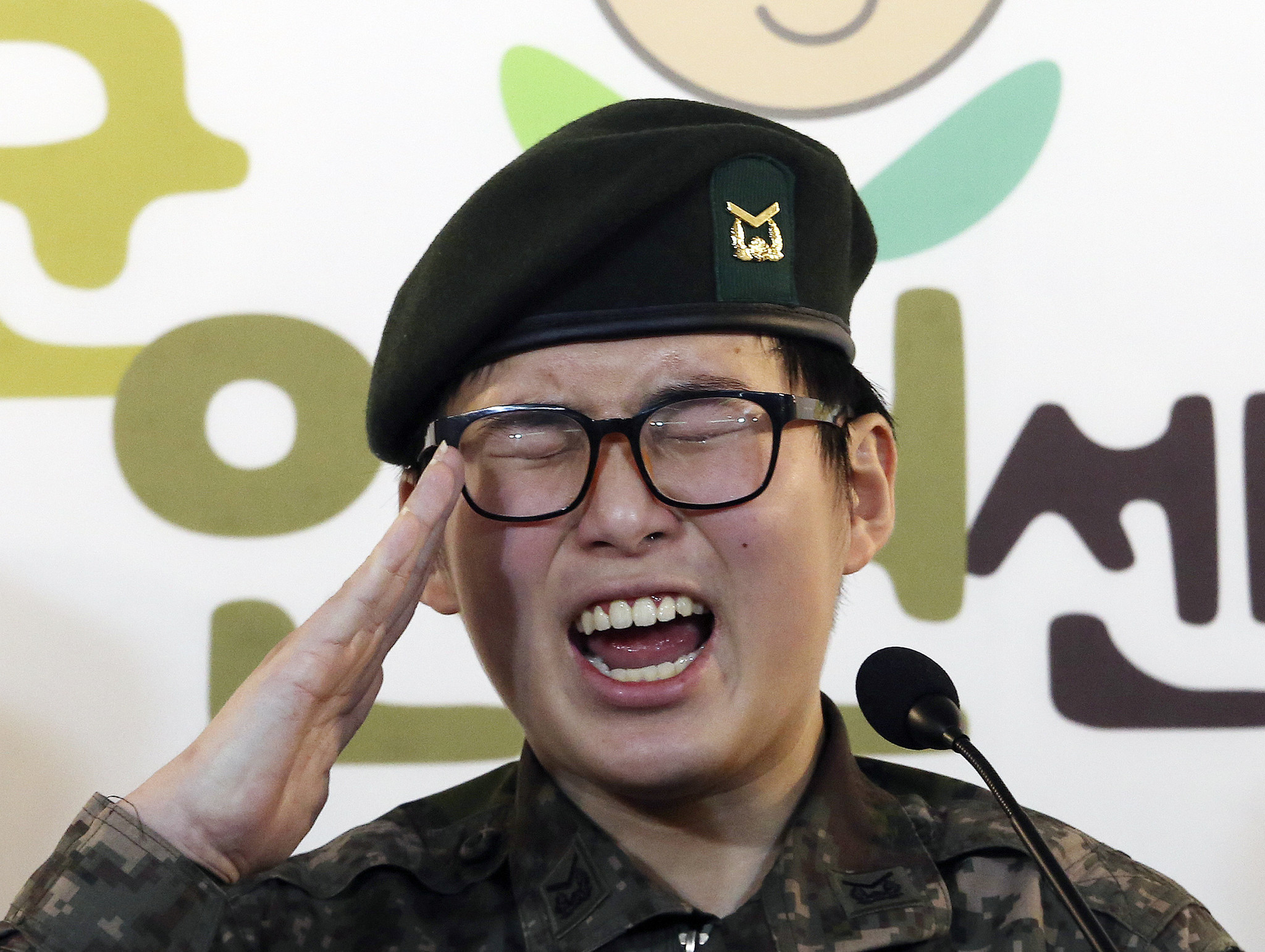 South Korean military discharges its 1st transgender soldier