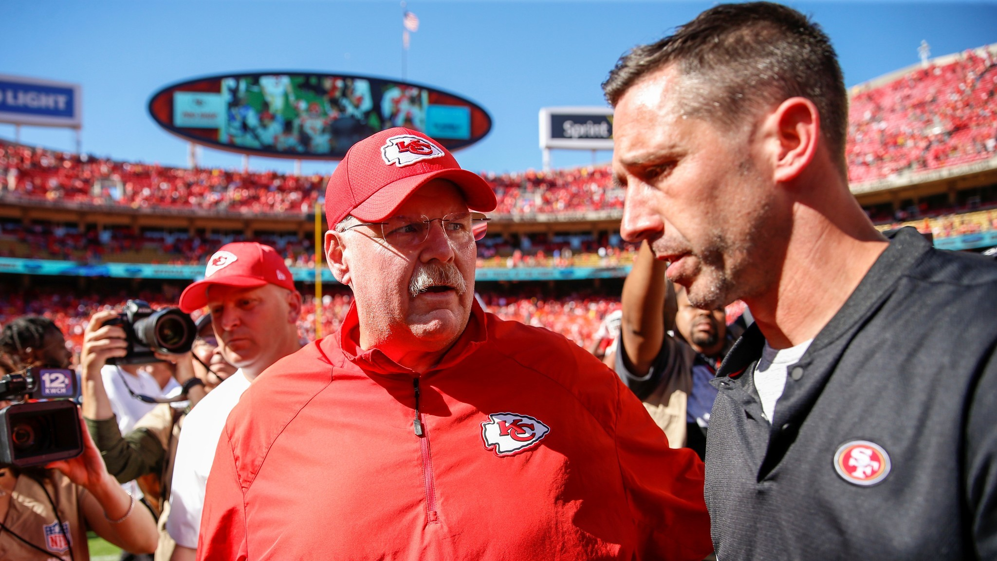 Andy Reid, Kyle Shanahan are NFL's premier abusers of defenses