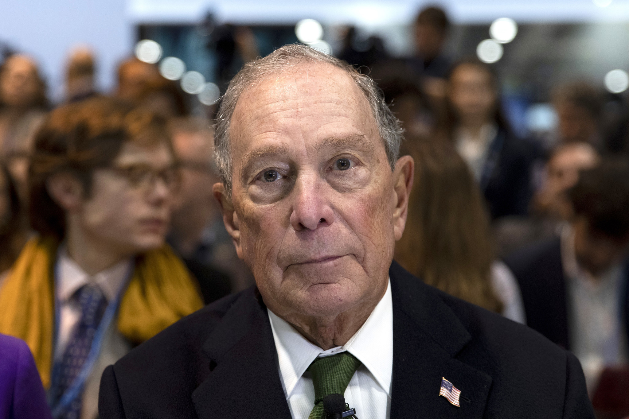'Mini Mike' Bloomberg wins insulting nickname as Trump seeks to meddle in Democratic primary