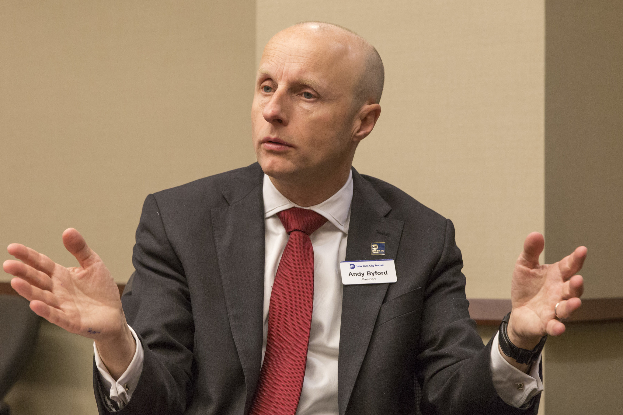 Andy Byford resigns from the MTA