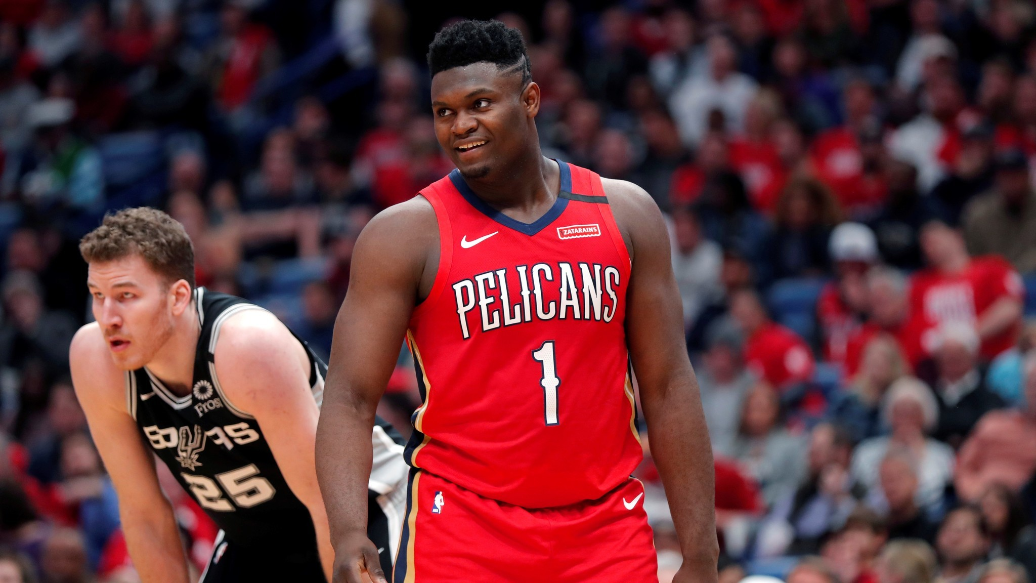 In three minutes, Zion Williamson showed how the Pelicans can be saved