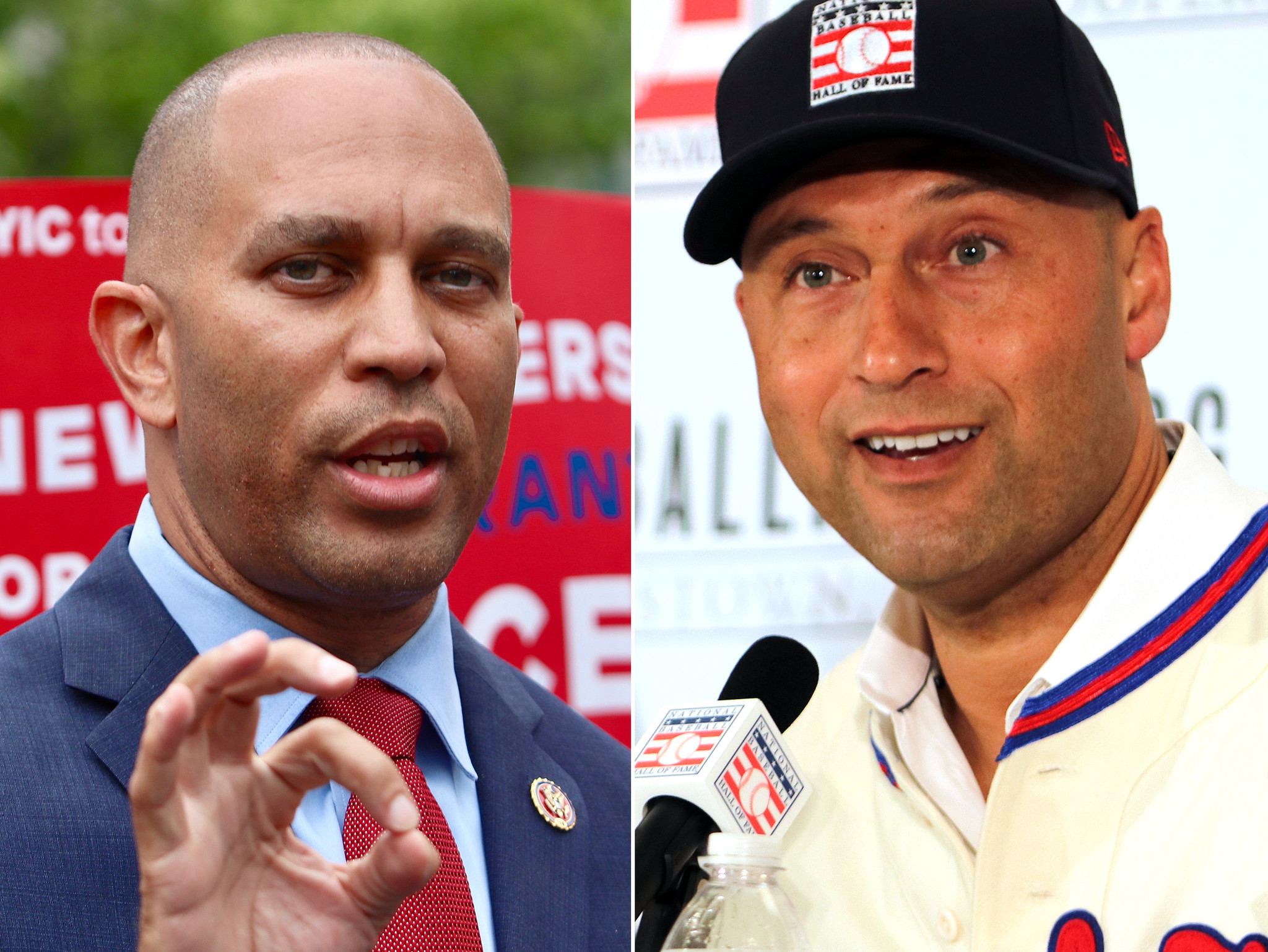 Impeachment manager Hakeem Jeffries suggests real outrage is vote against putting Derek Jeter in Hall of Fame