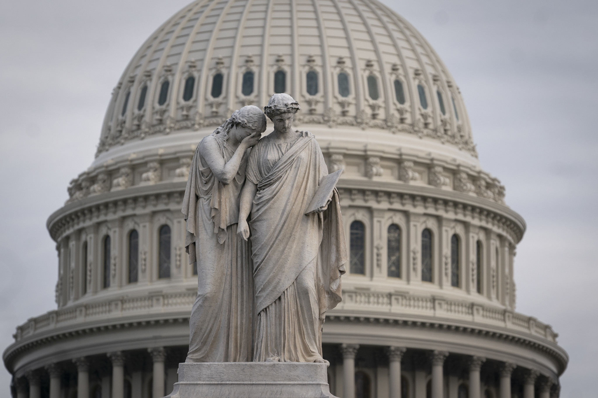 It's Trump vs. the House in a battle for America's soul