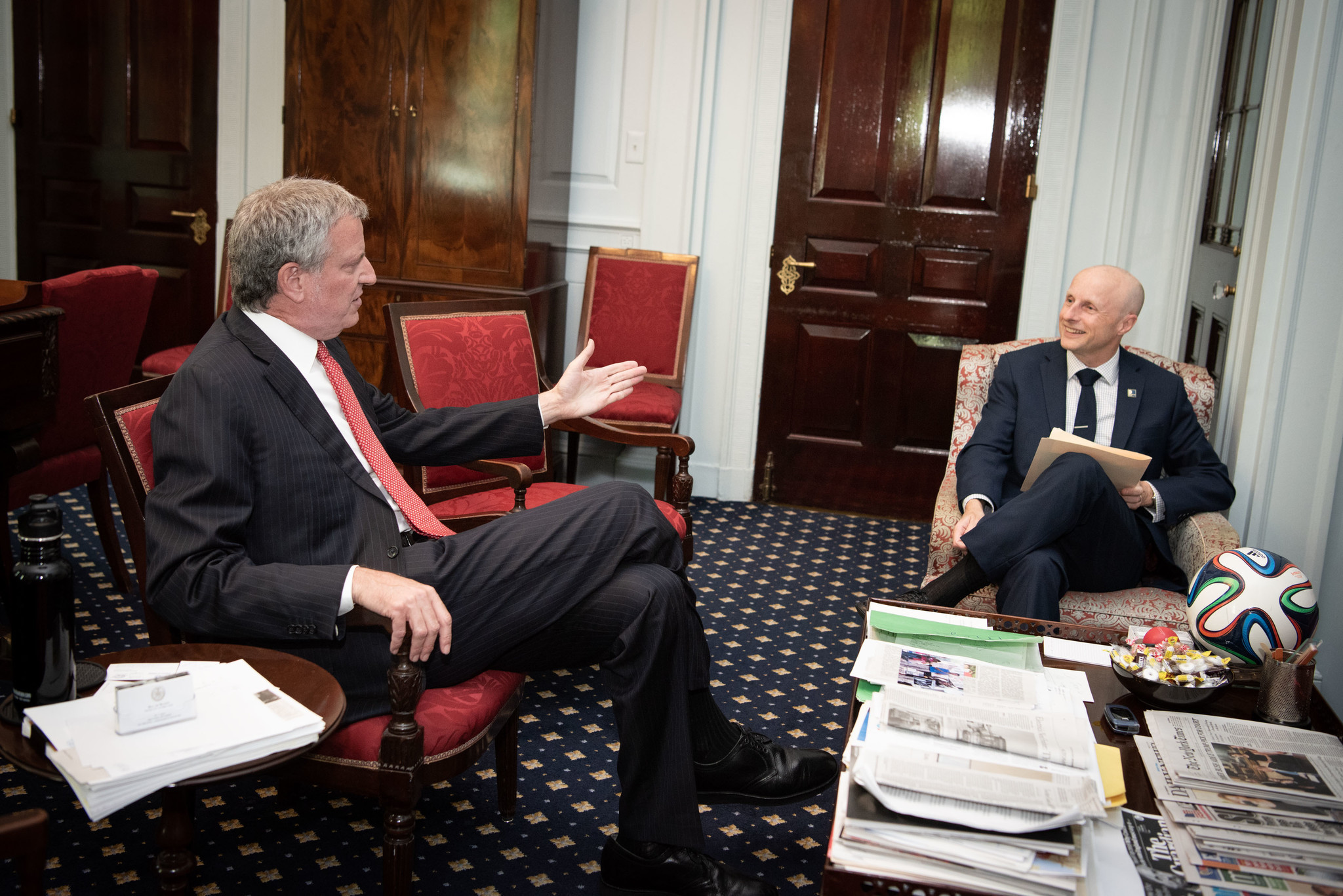 De Blasio wants Byford back, closes door on idea of city control of subways