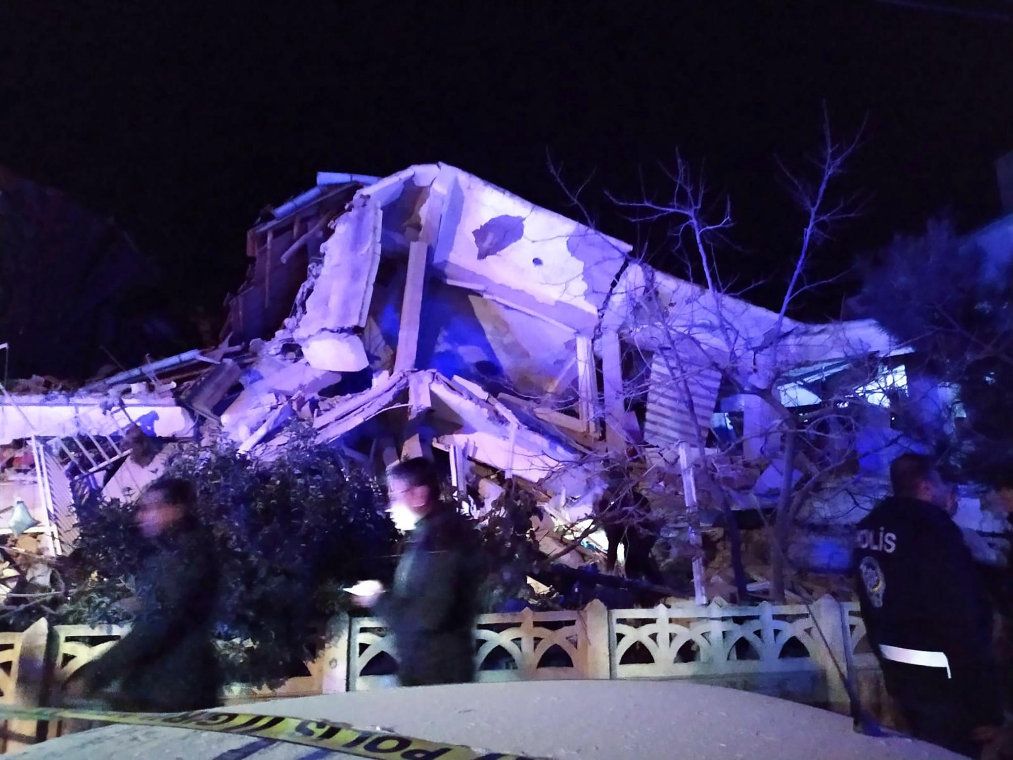 Powerful 6.7-magnitude earthquake shakes eastern Turkey, killing at least 4: authorities
