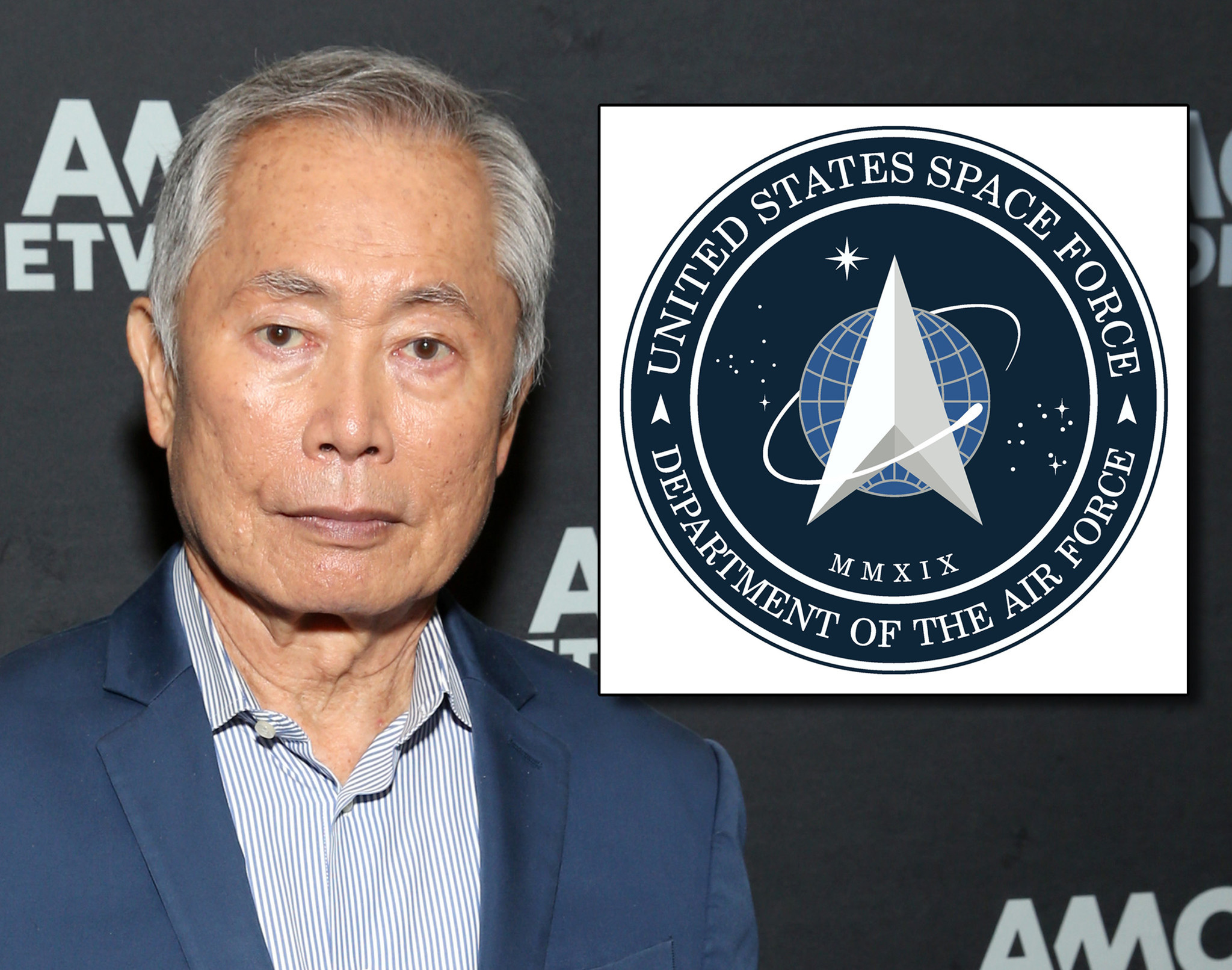 George Takei is not impressed by Space Force's 'Star Trek-like logo