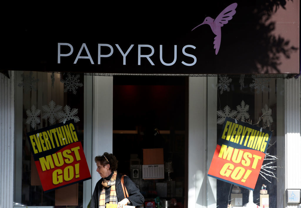 Papyrus to close 254 stores after filing for bankruptcy