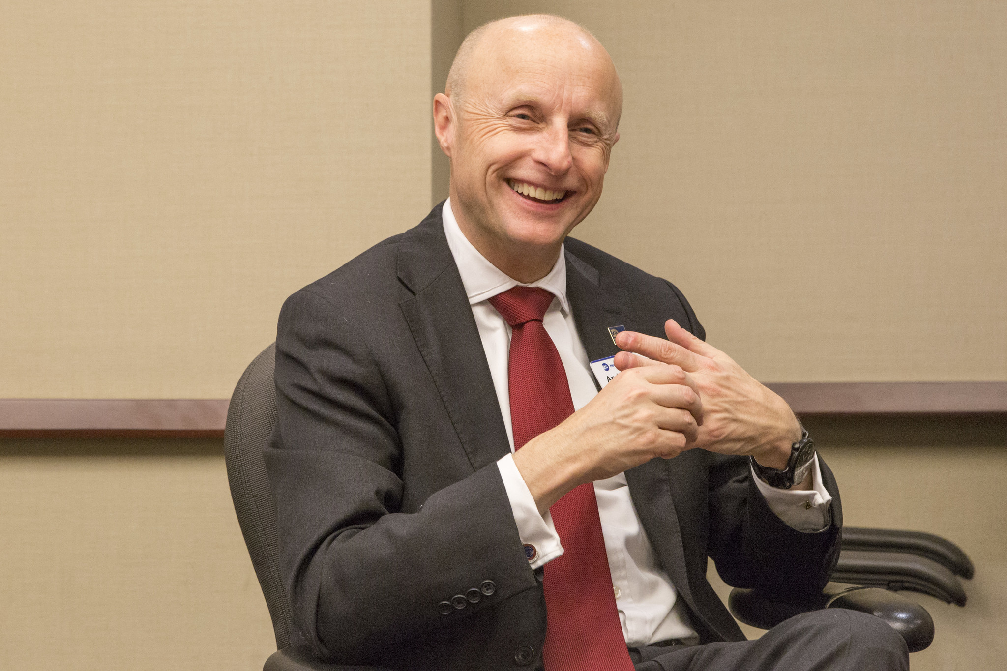 NYC Transit Authority exec Andy Byford gets hearty send off on last commute home