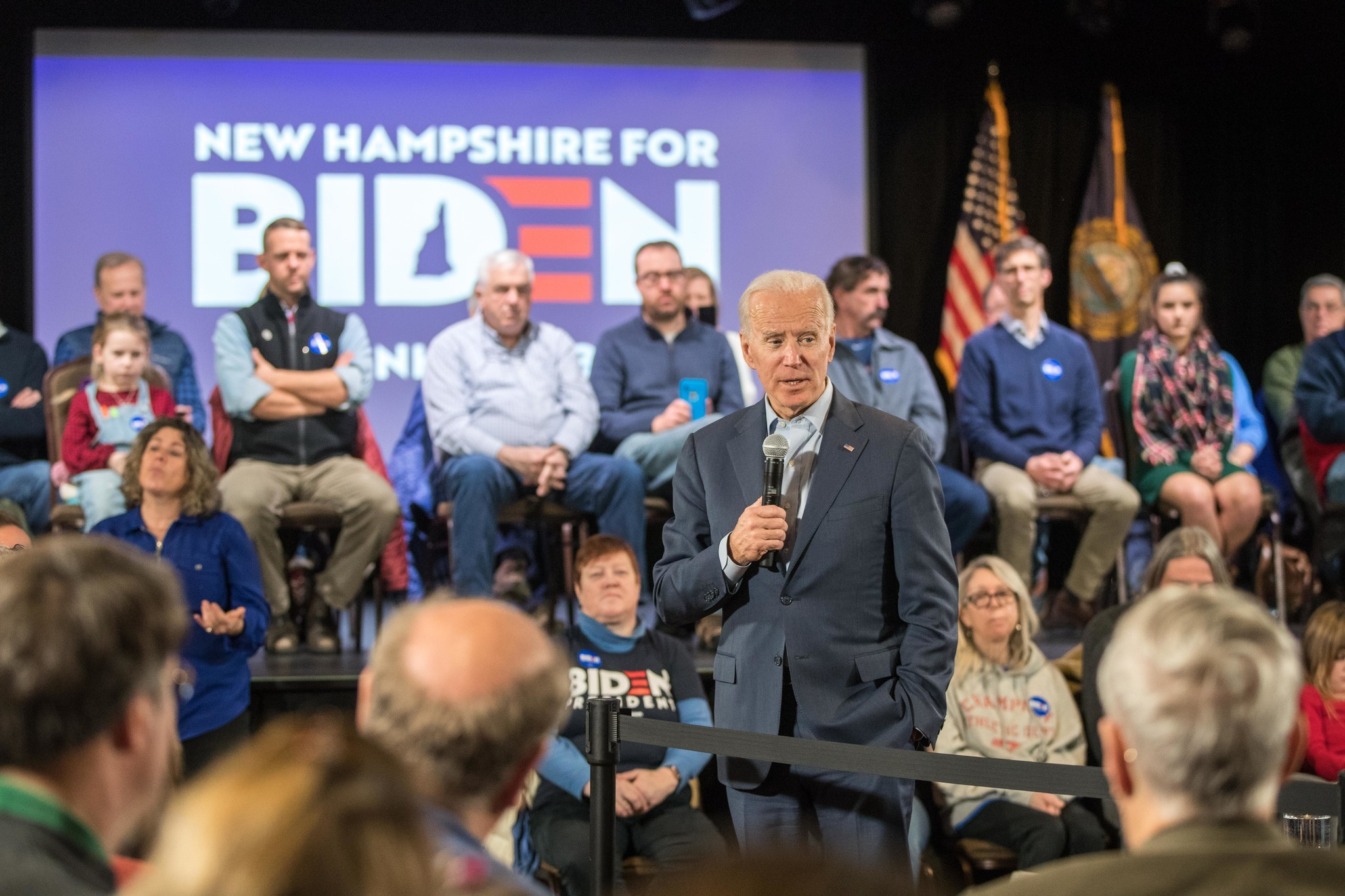 Joe Biden tells New Hampshire voters that impeachment attacks show GOP fears him — but Trump's lawyers didn't mention his name
