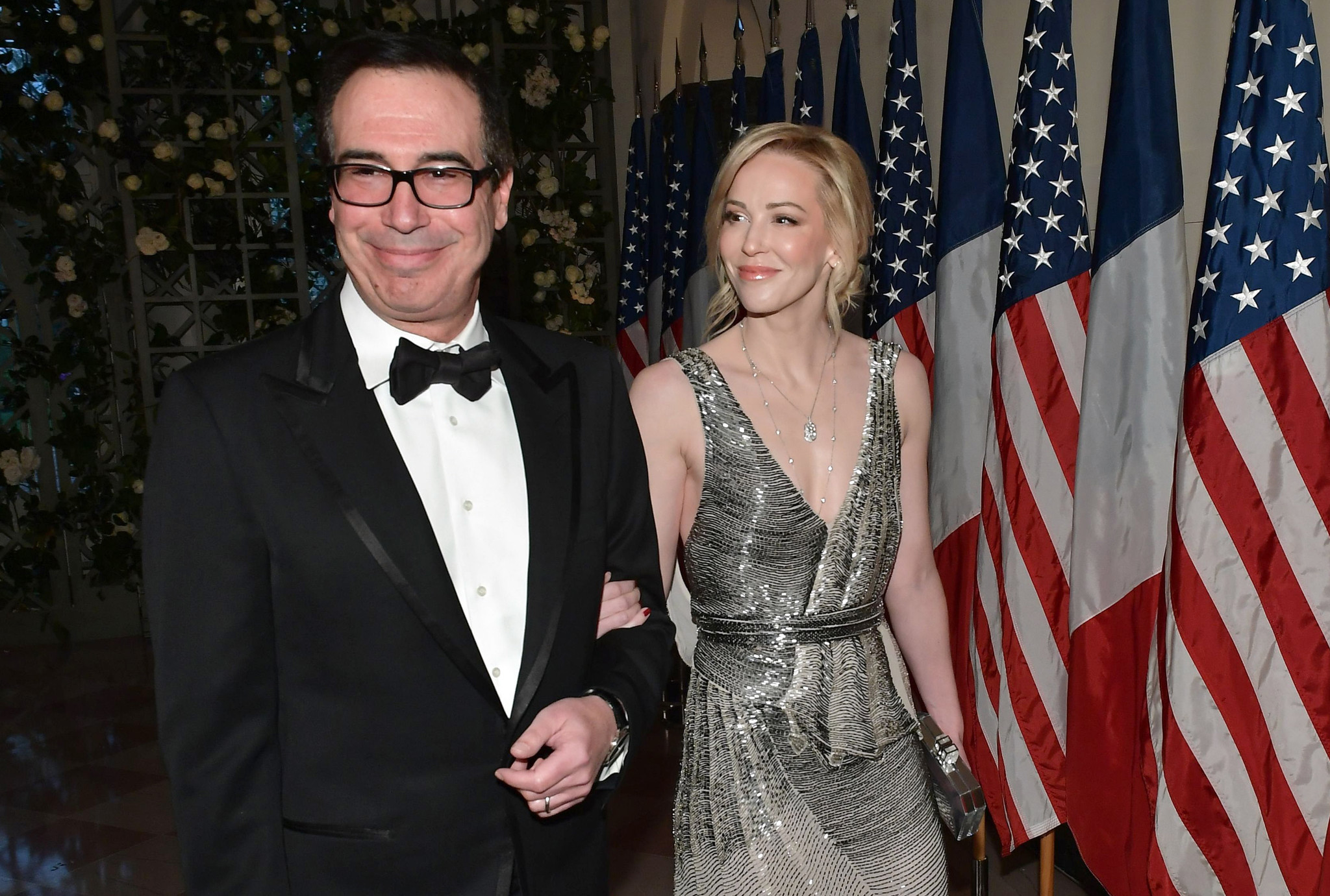 Louise Linton sides with Greta Thunberg in 'shut up and study Econ' climate spat with hubby Steve Mnuchin