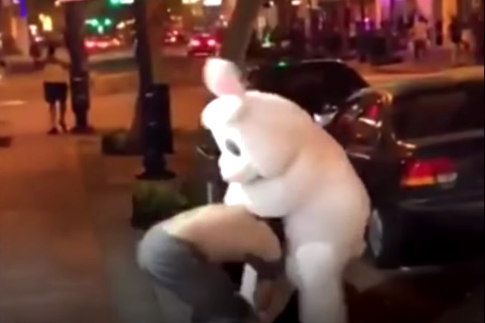 'Orlando Easter Bunny' tries to avoid arrest in bunny suit, cops hip to the scheme