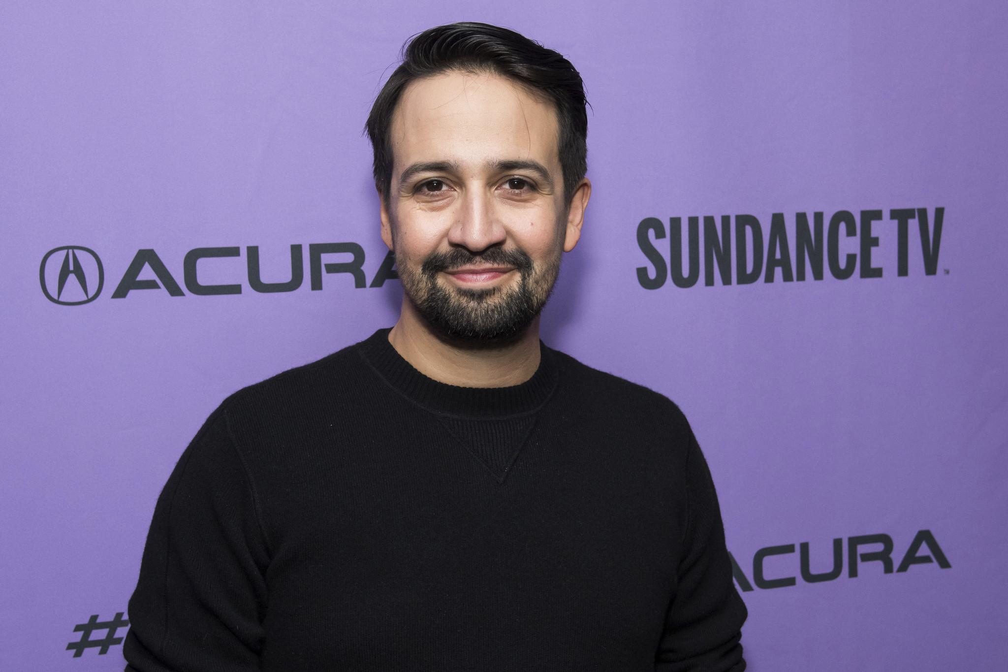 Lin-Manuel Miranda says he hopes filmed version of 'Hamilton' will get released 'sooner rather than later'