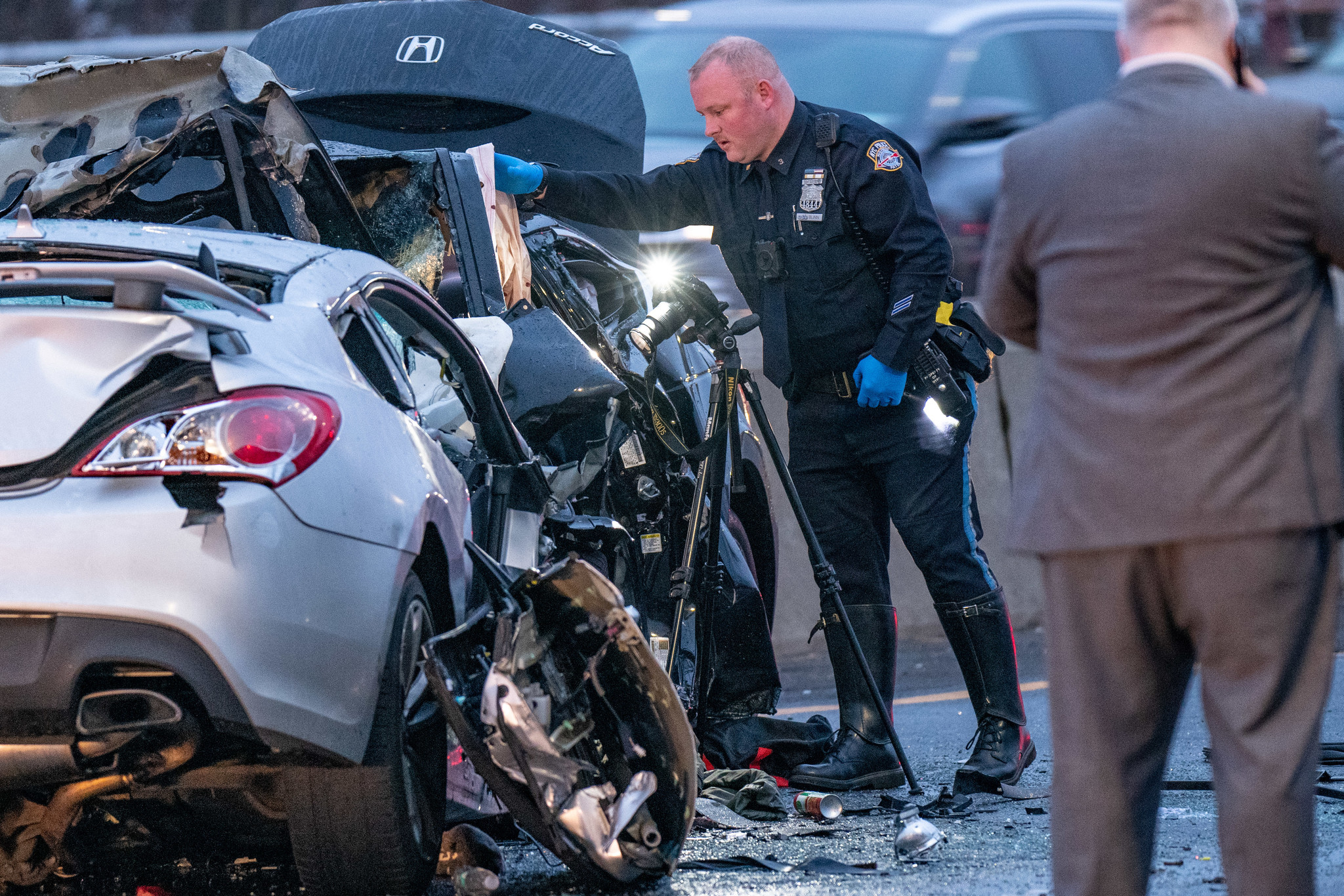 Families mourn, search for answers after 3 killed in wrong-way car crash in Queens