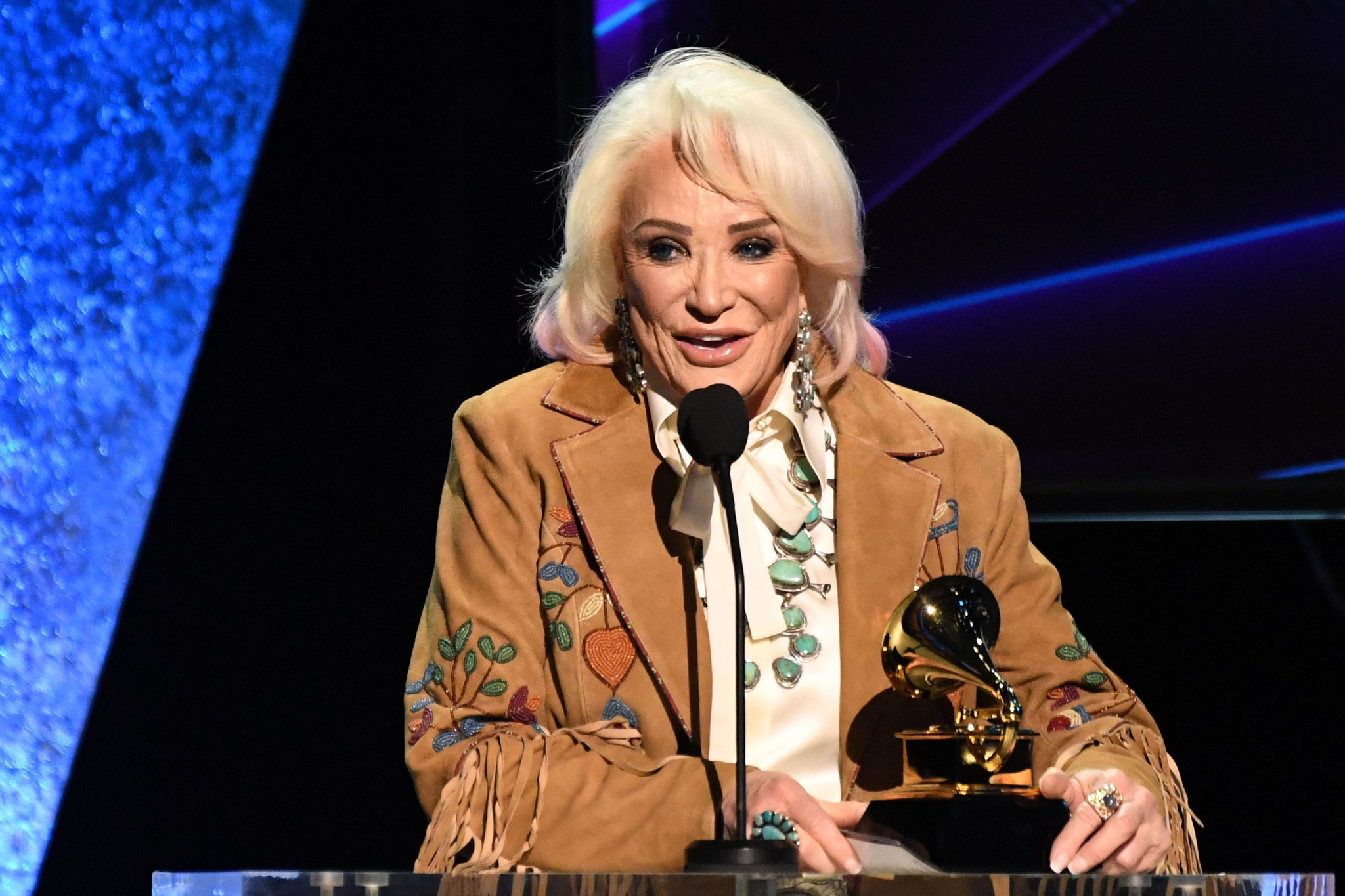 Tanya Tucker wins first Grammys, almost 50 years after first nomination