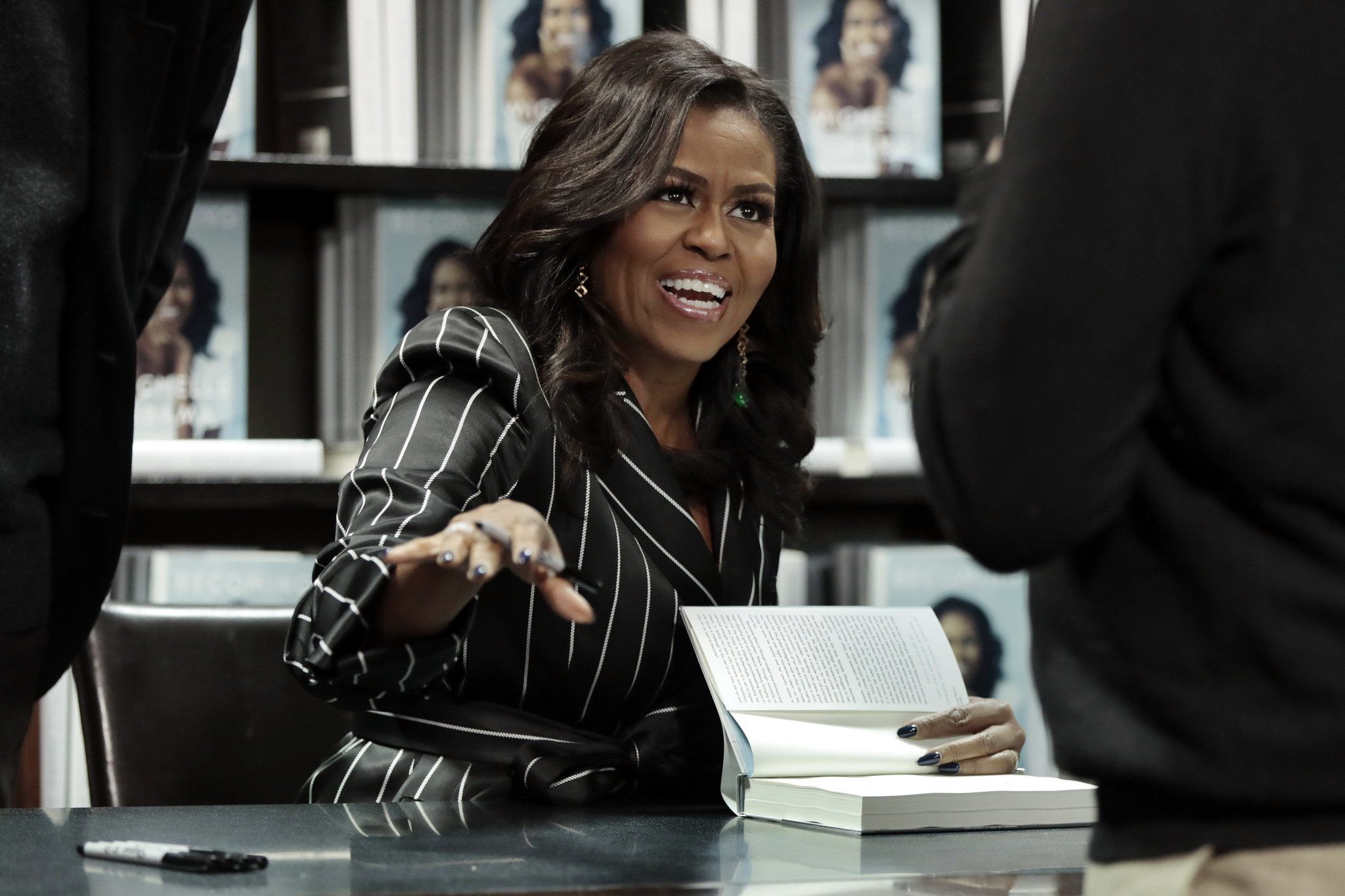 Michelle Obama wins her first Grammy for 'Becoming' audiobook