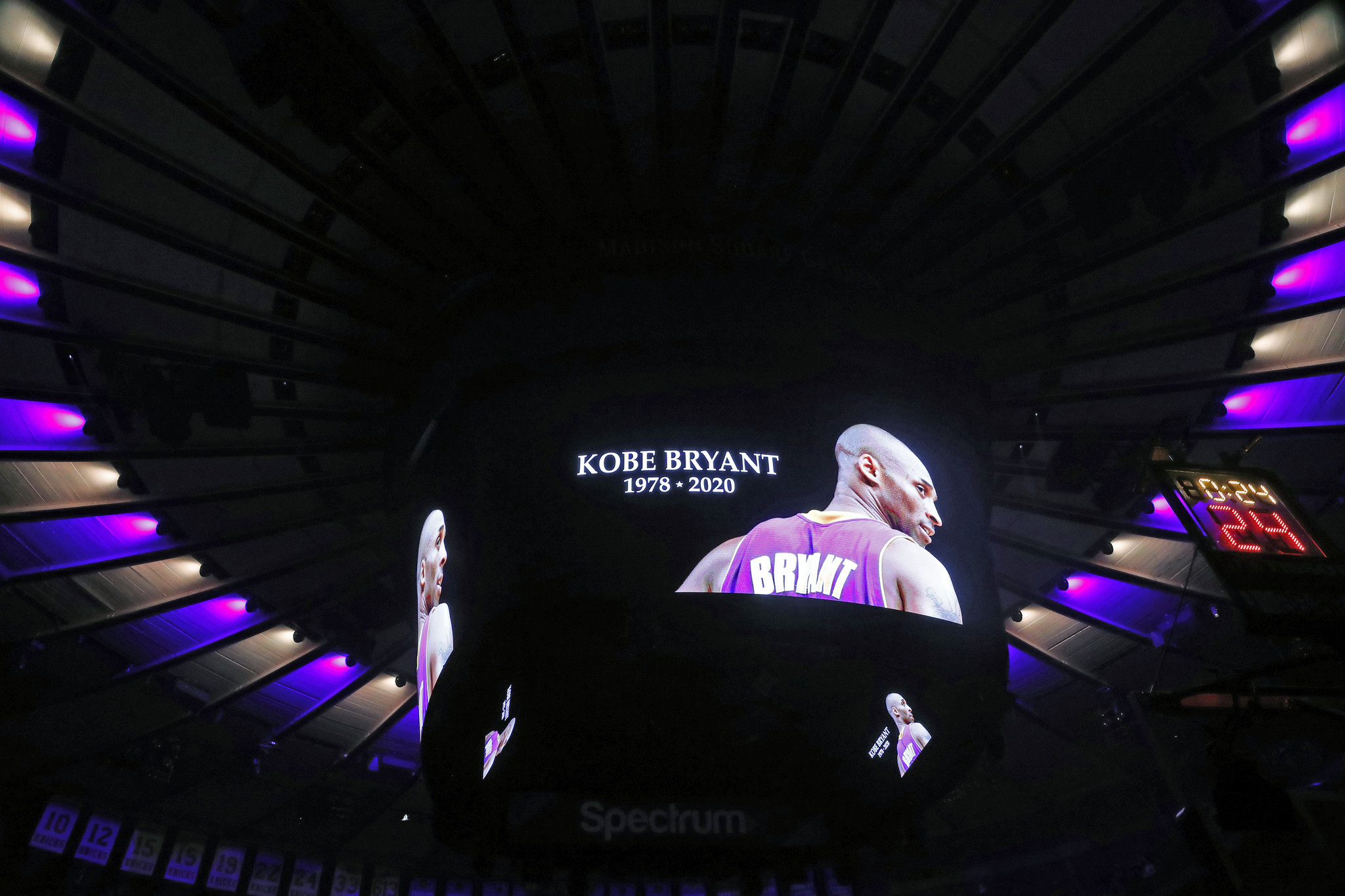 Knicks players stunned by death of Kobe Bryant